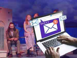 Yahoo Email at Broadway Show