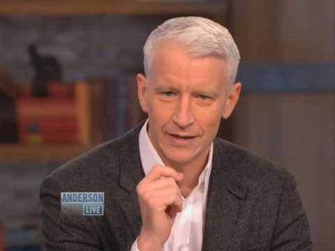 Anderson Cooper as host of his daytime talk show Anderson Live