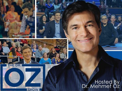 Dr Mehmet Oz hosts Dr Oz talk show