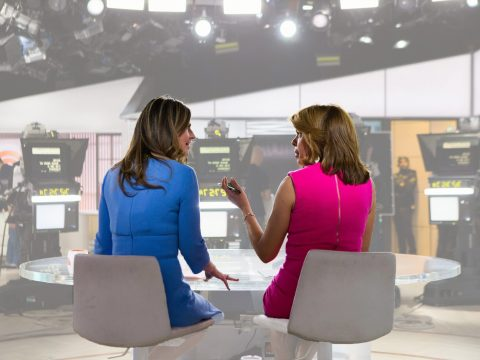 Hoda Kotb And Savanna Guthrie Today Show