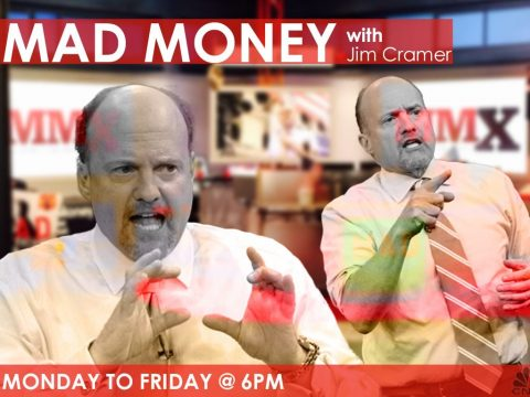 Jim Cramer as host of Mad Money