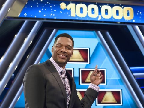 Michael Stahan hosts $100000 Pyramid