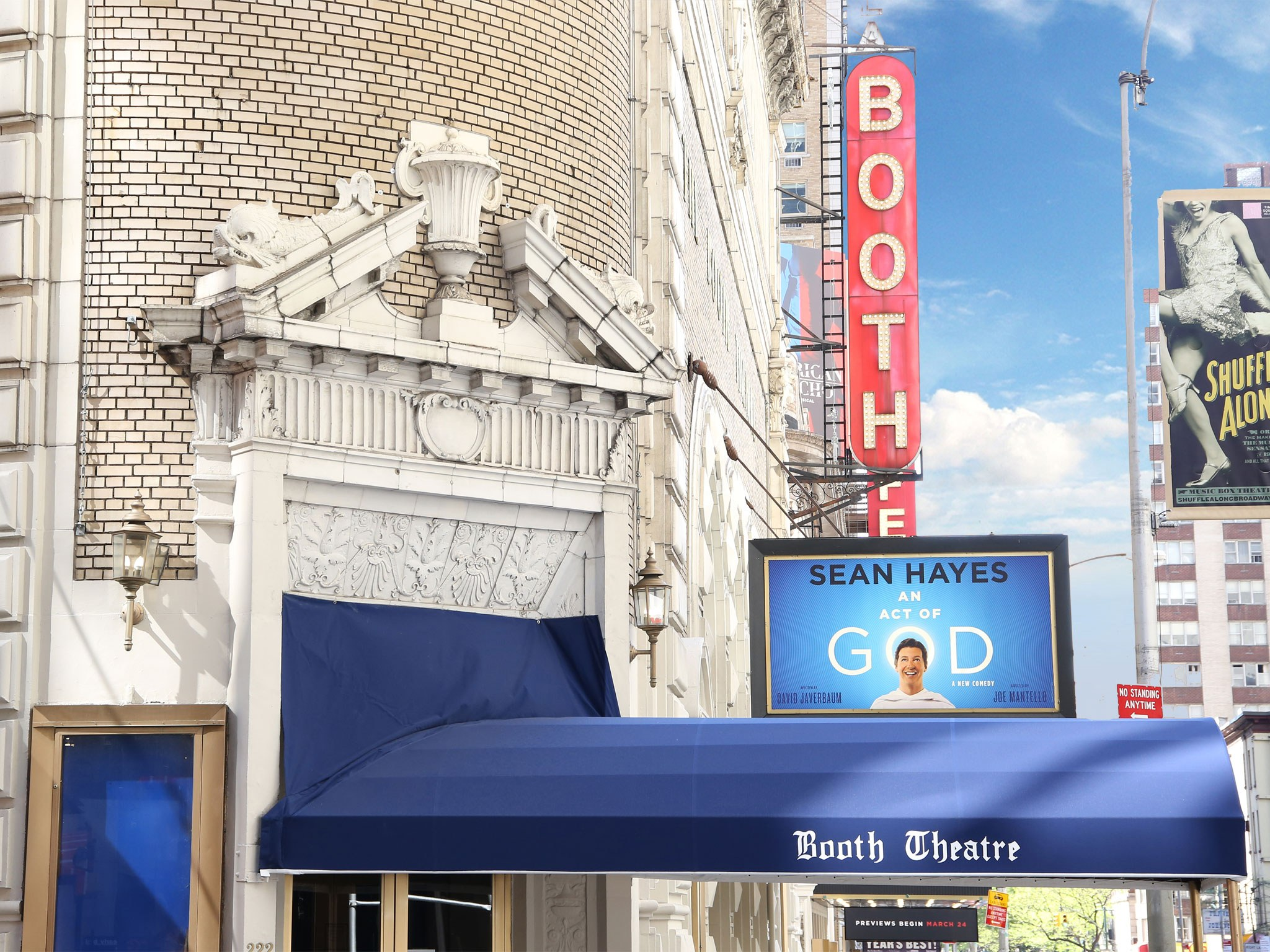 An Act of God (2016, Sean Hayes) Marquee