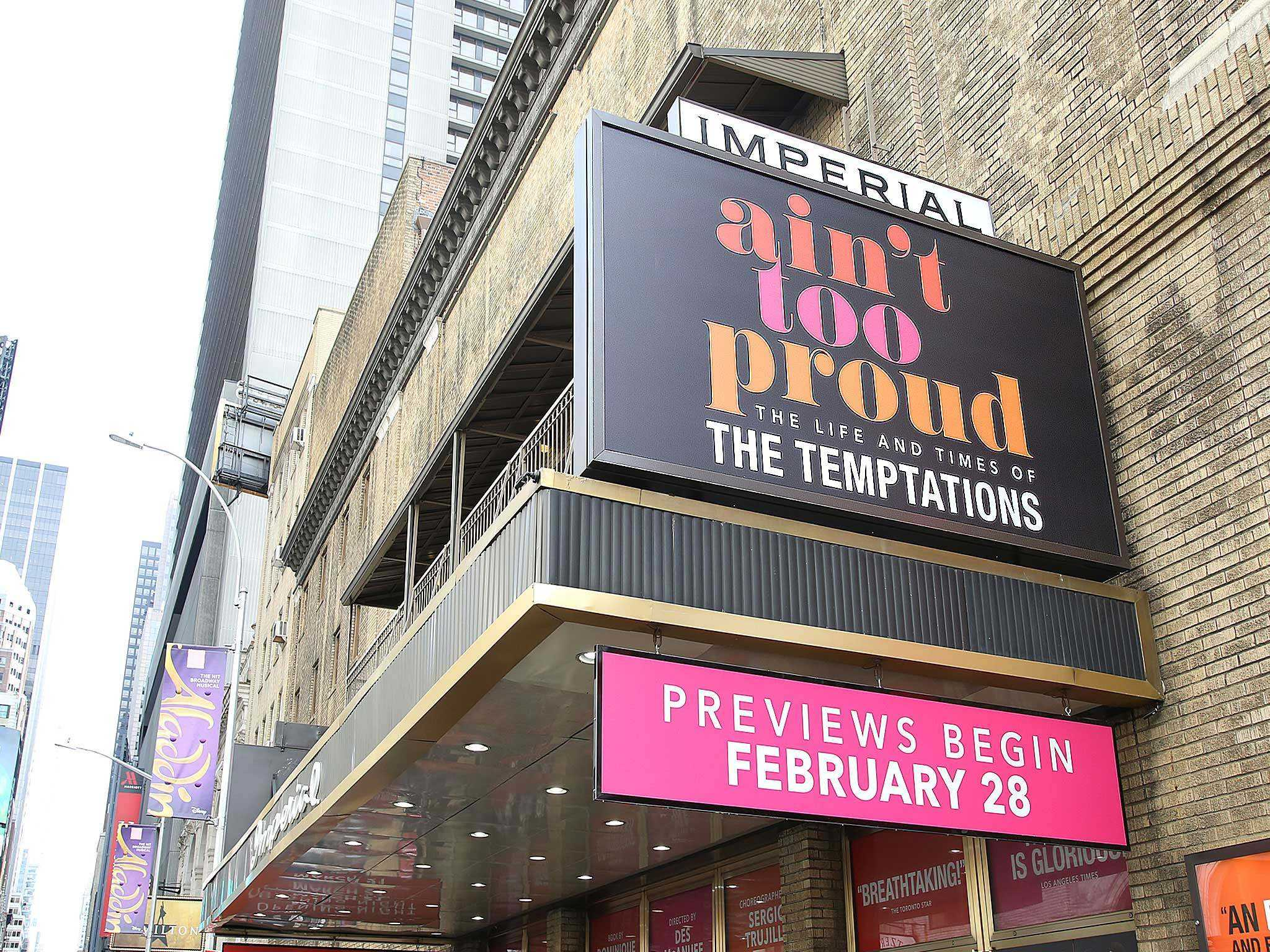 Ain't Too Proud Broadway Imperial Theatre