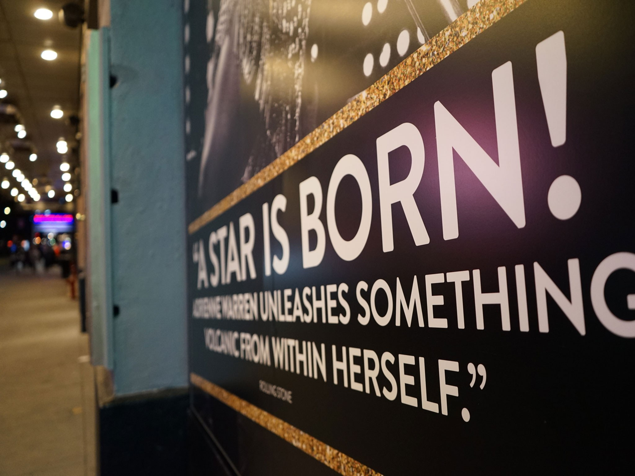 A Star is Born Show Marquee