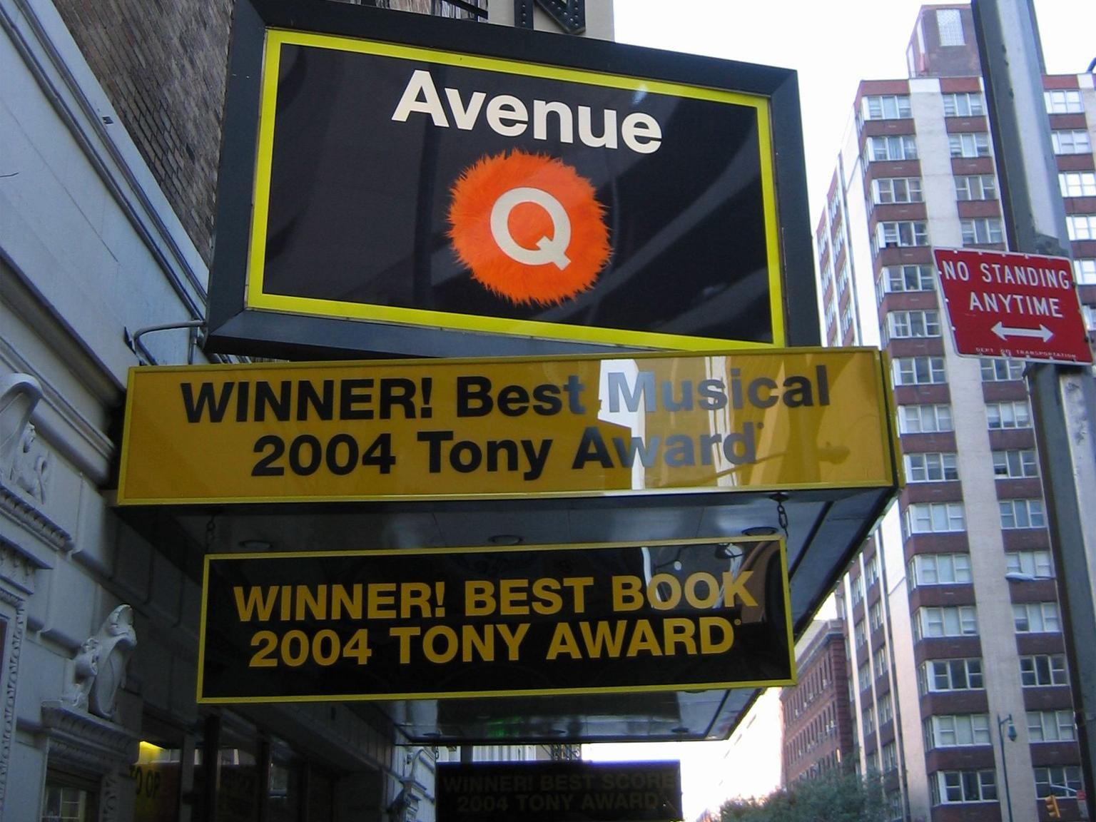 Avenue Q Marquee