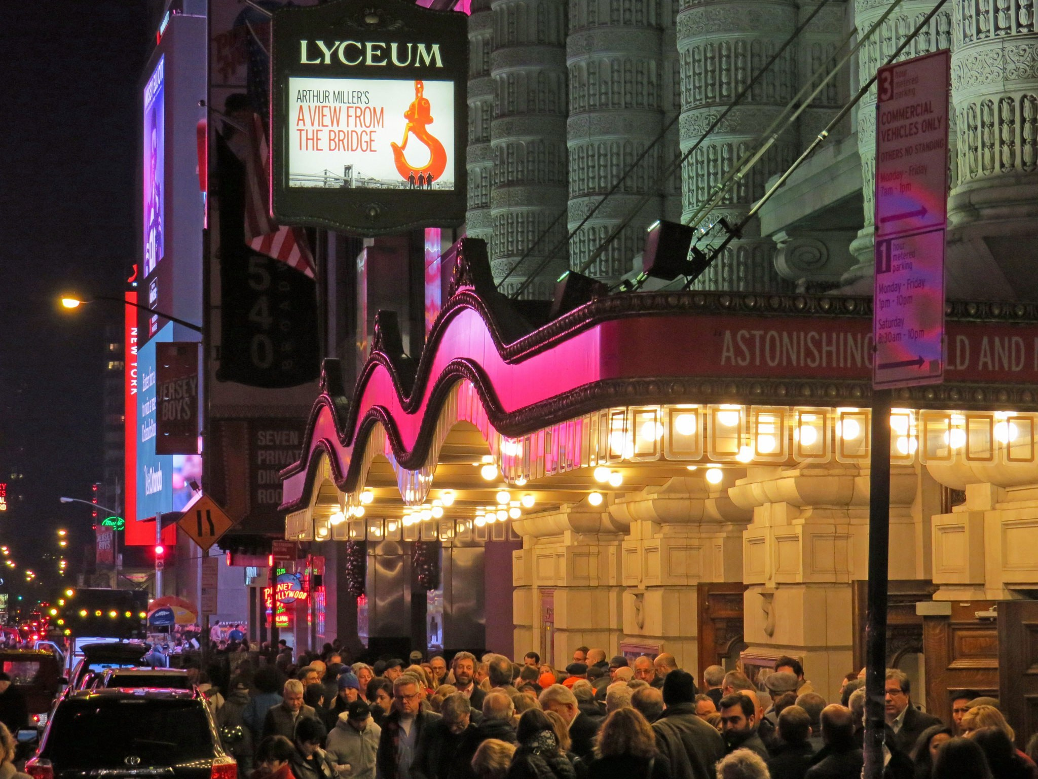 A View From The Bridge Broadway Theatre Marquee