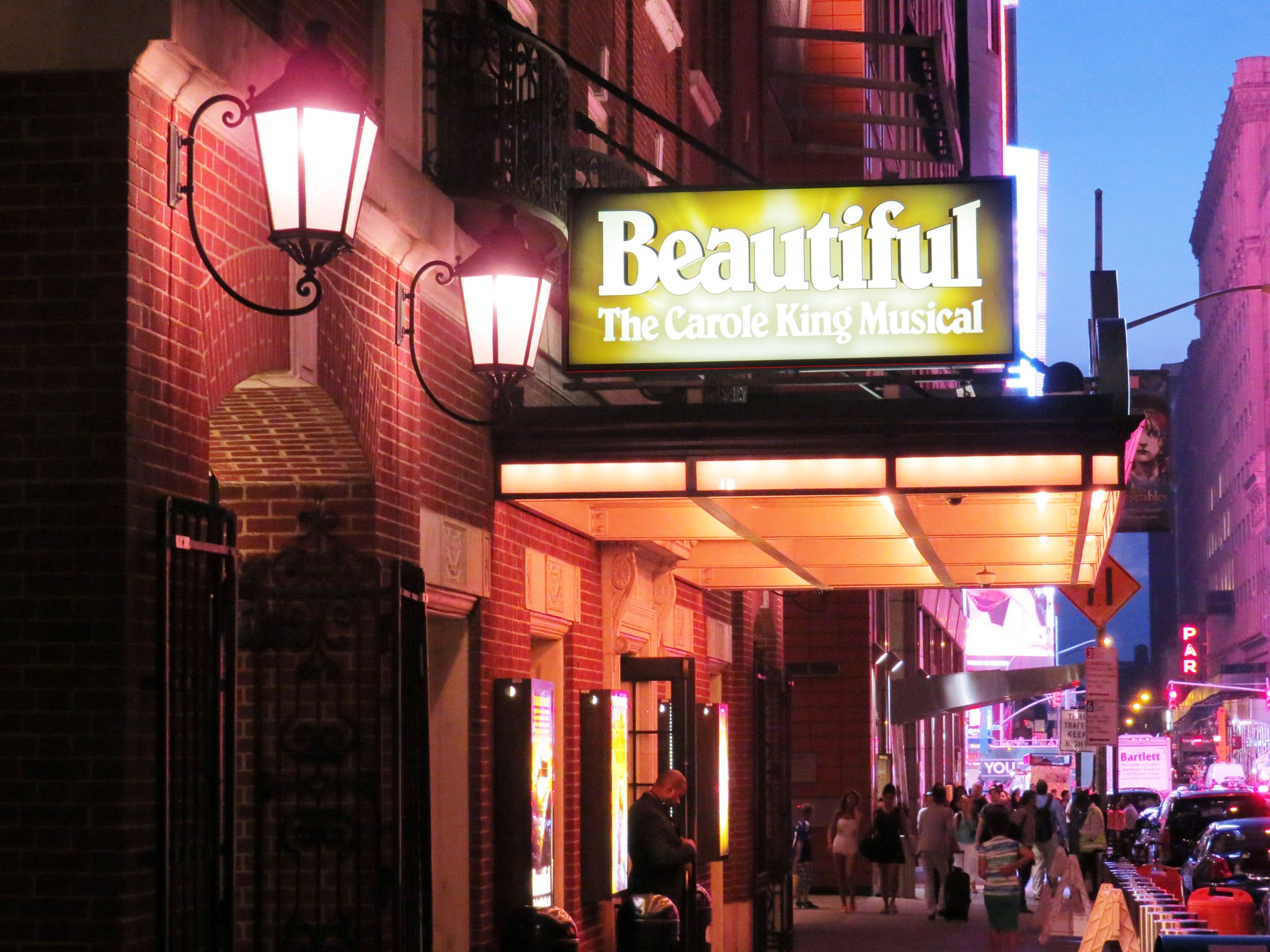 Beautiful: The Carole King Musical Marquee