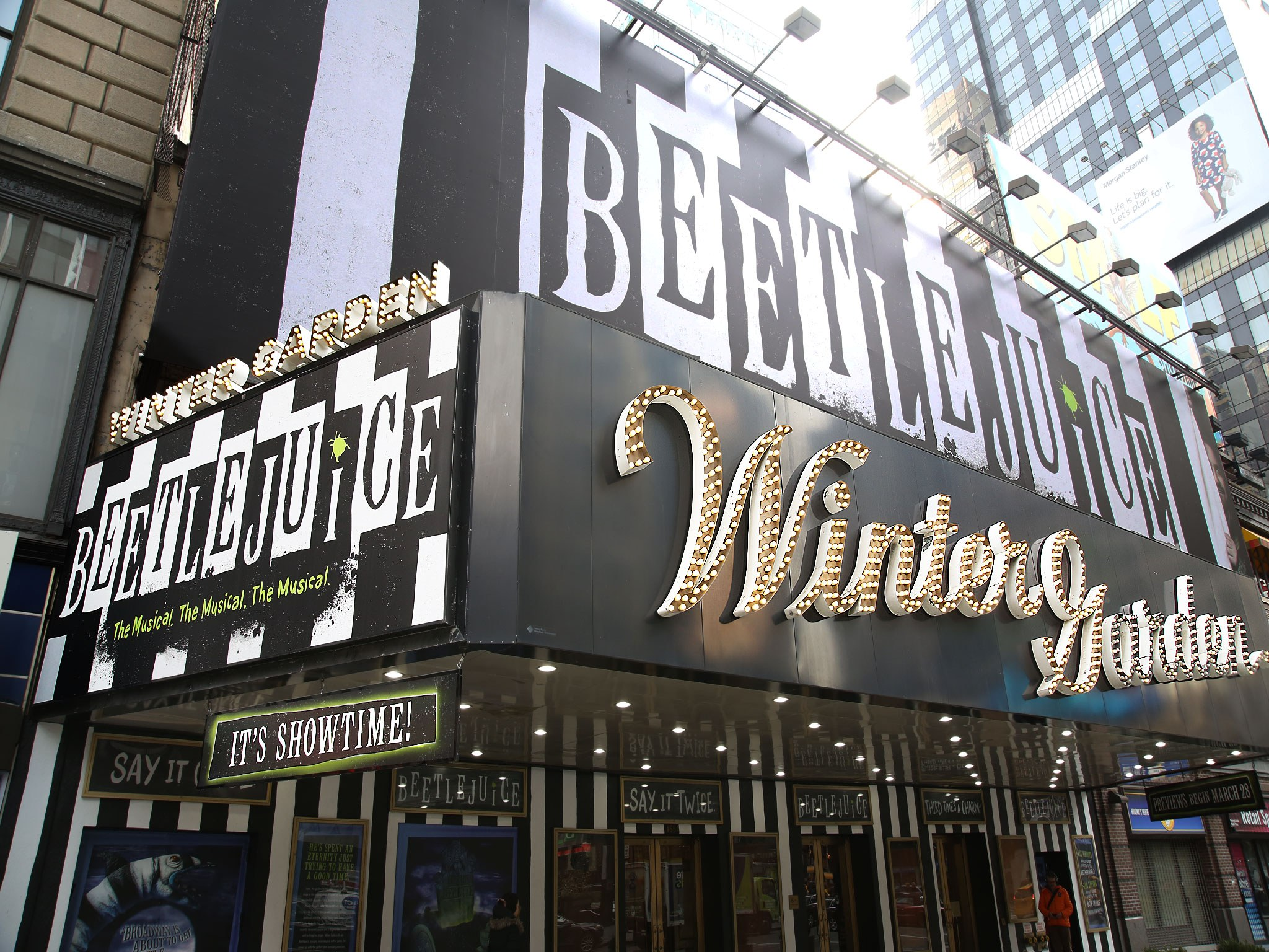 Beetlejuice at The Winter Garden Theatre