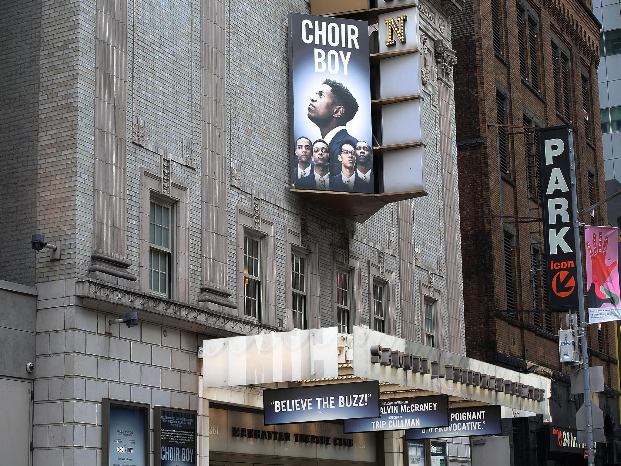 Choir Boy Marquee