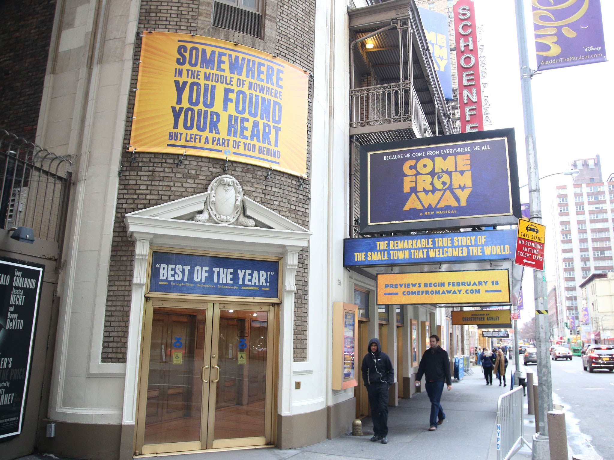 Come From Away Marquee