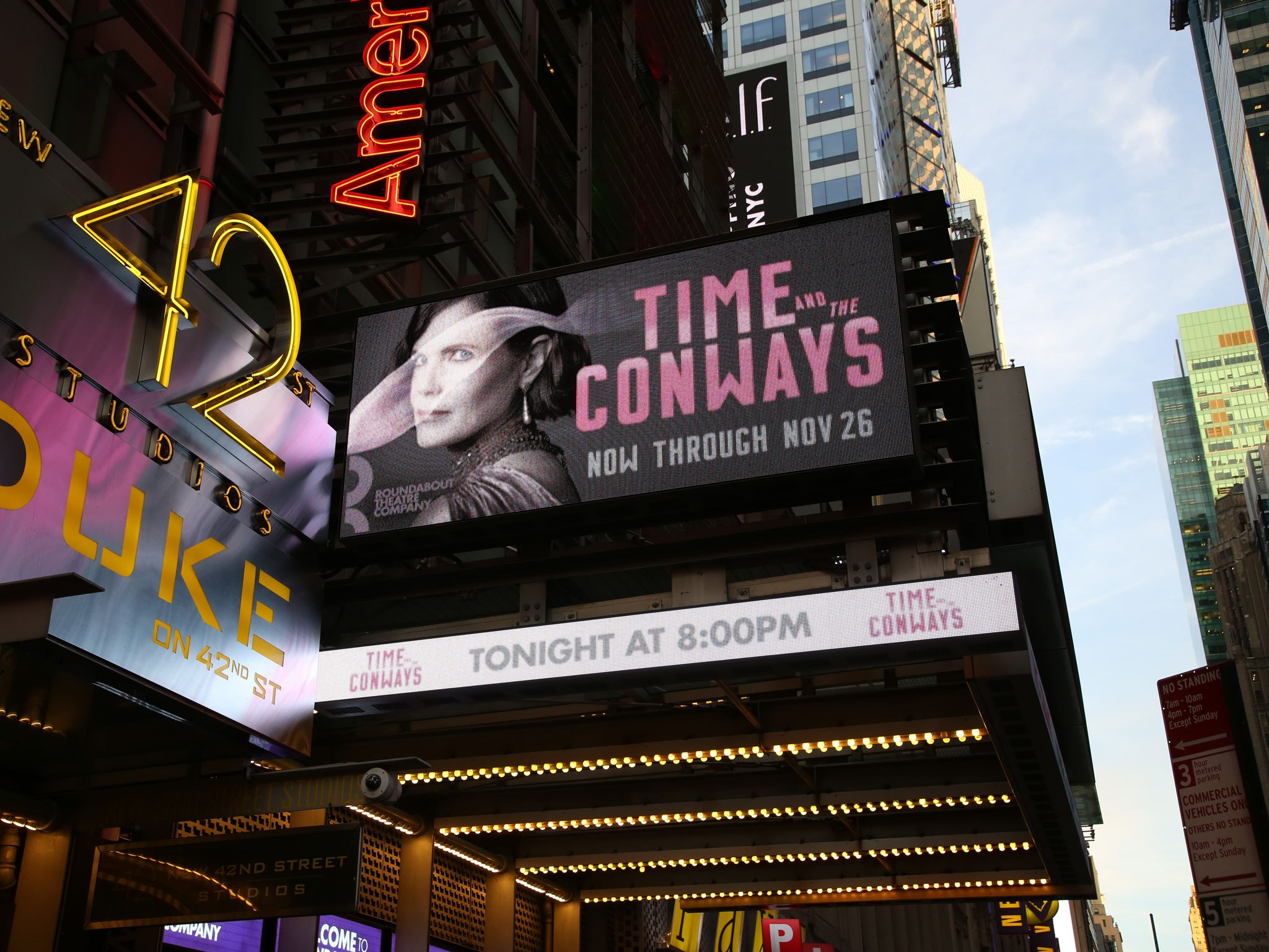 Time and the Conways Marquee