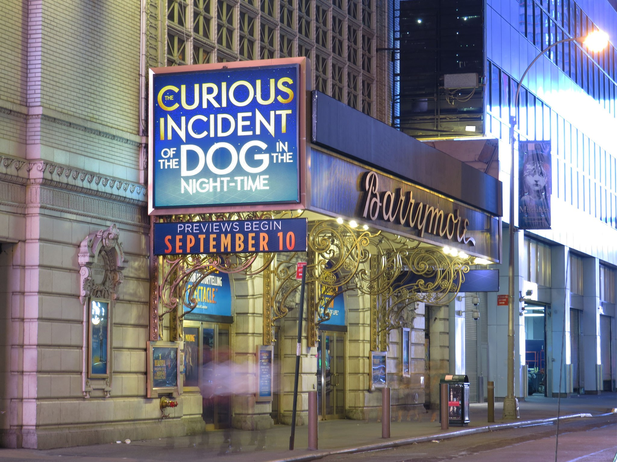 The Curious Incident of the Dog in the Night-Time Marquee