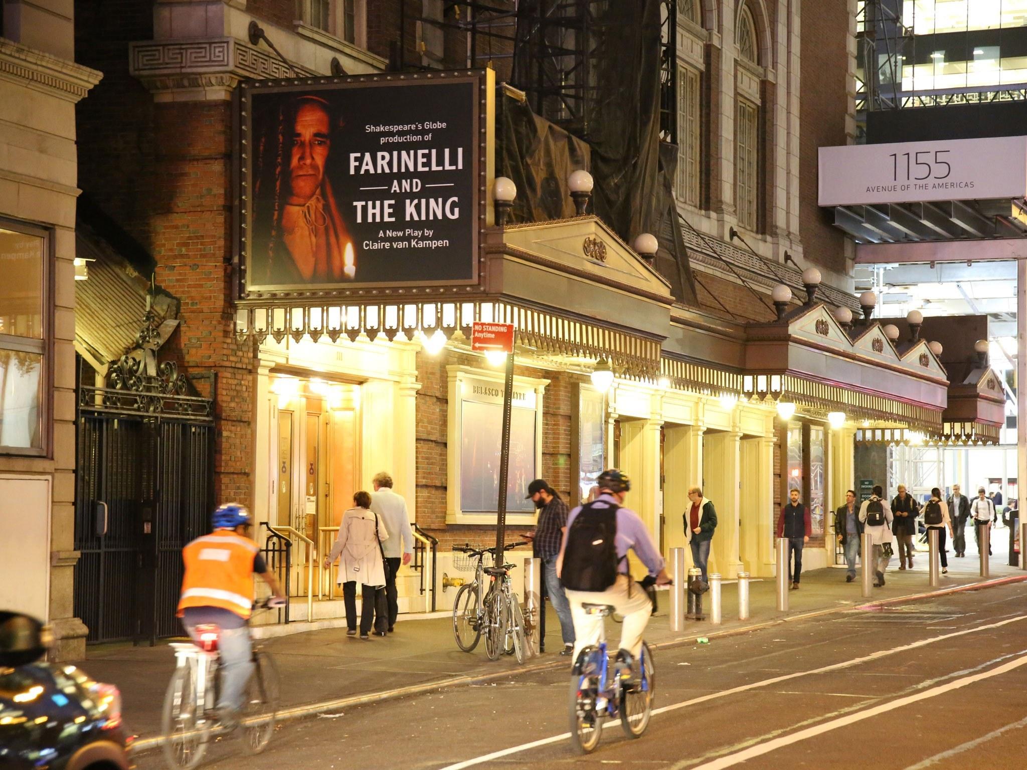 Farinelli Broadway Theatre Marquee