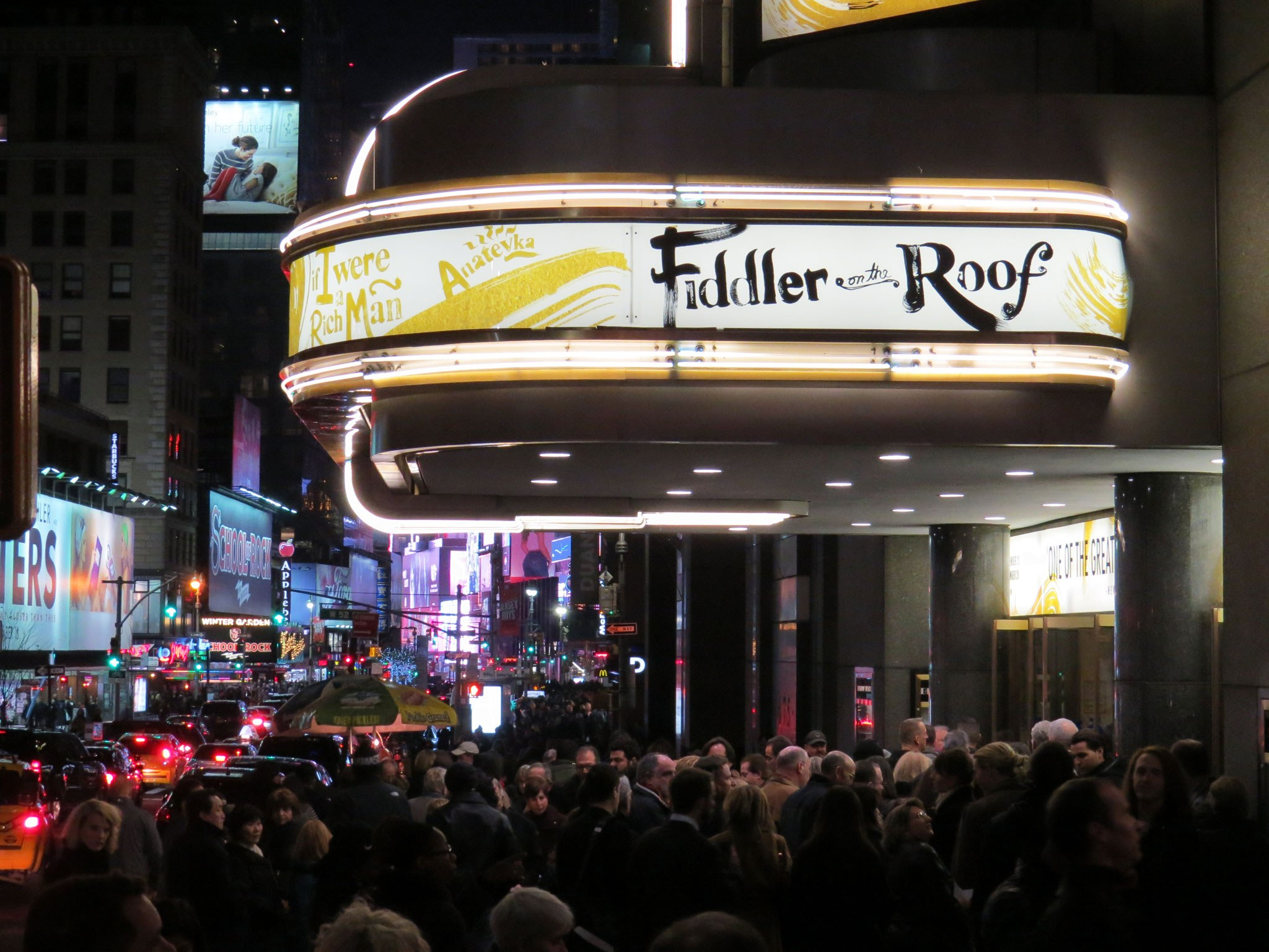 Fiddler on the Roof 2016 Marquee