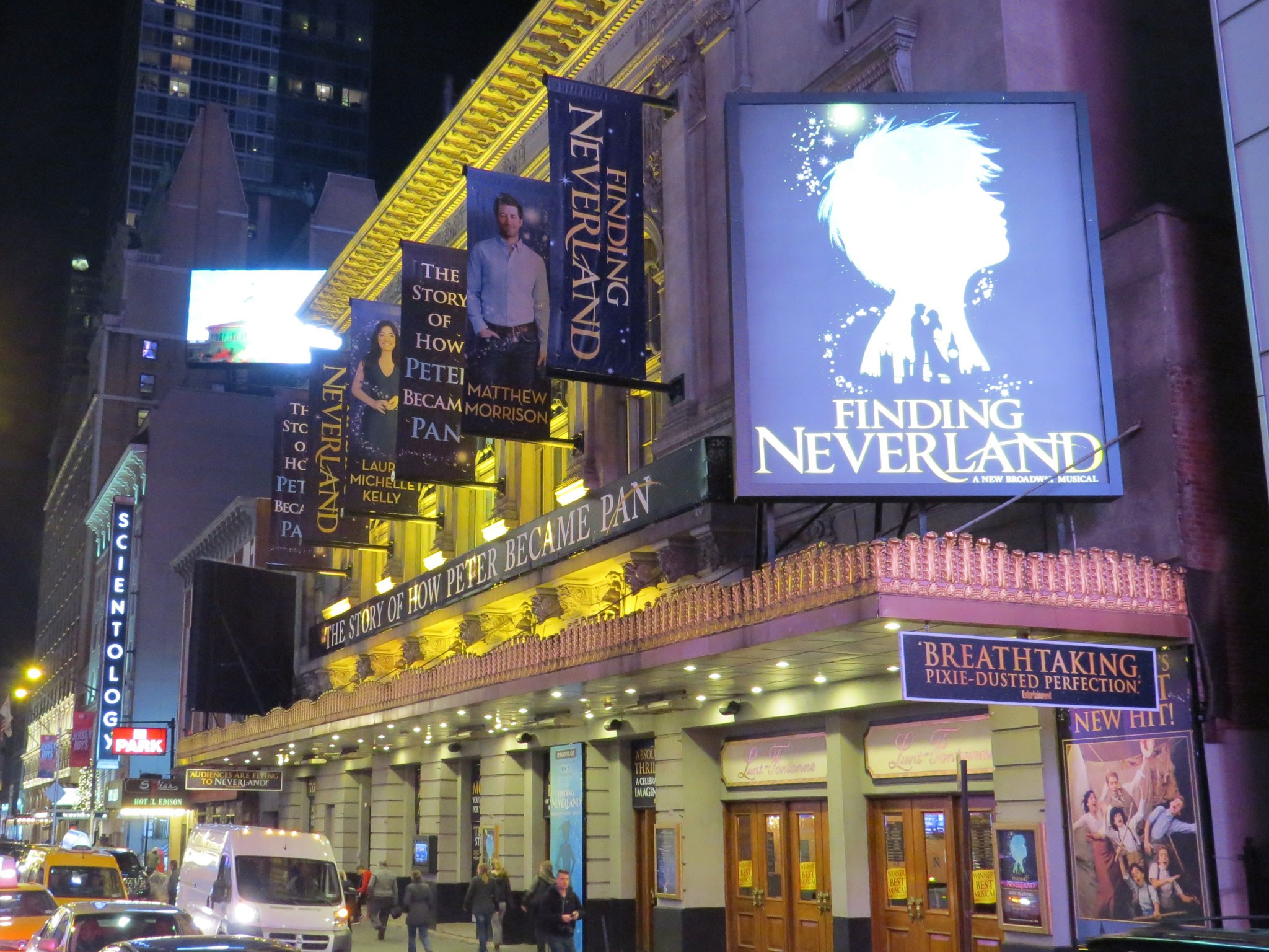 Finding Neverland Marquee