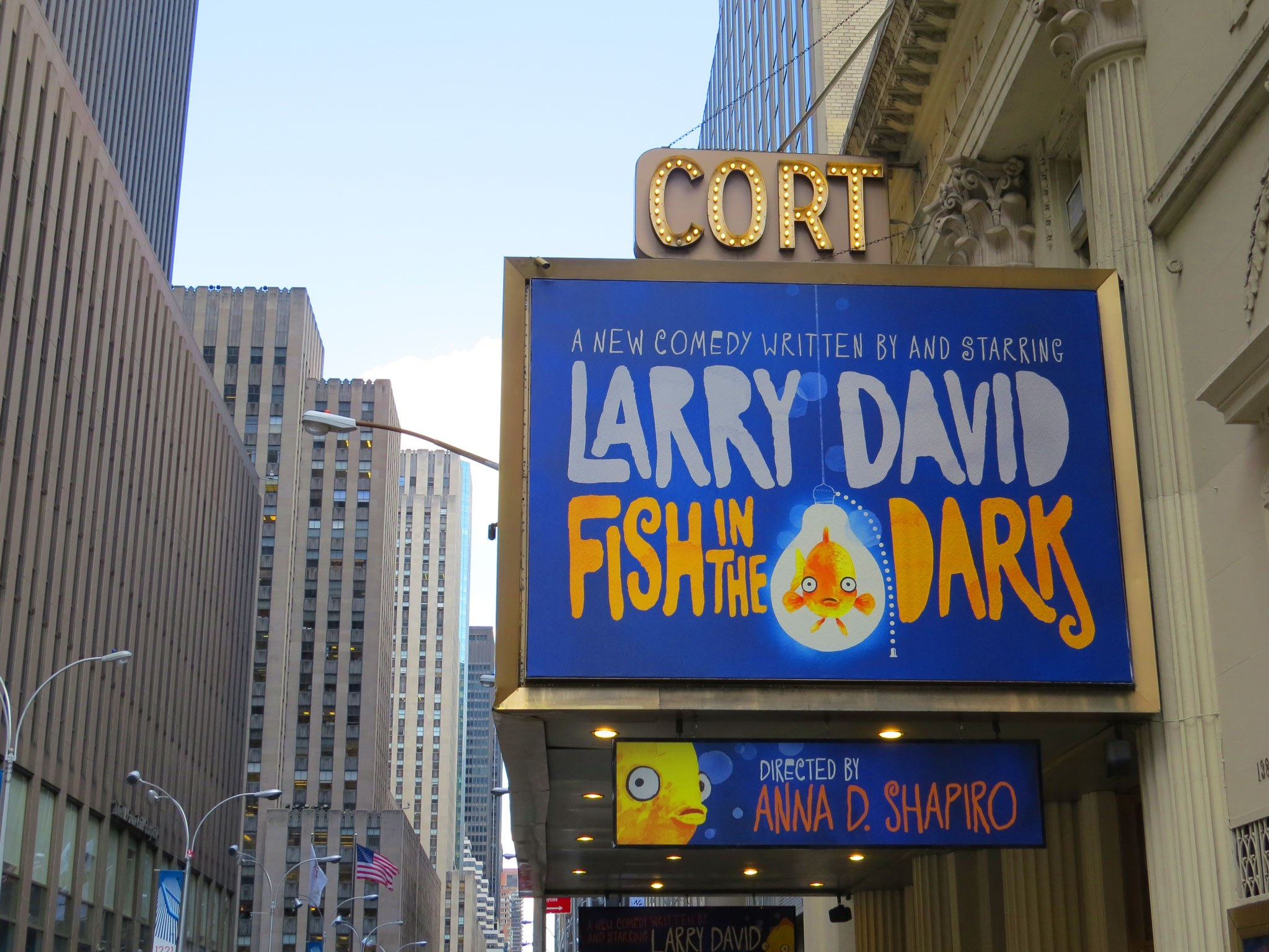 Fish in The Dark Marquee