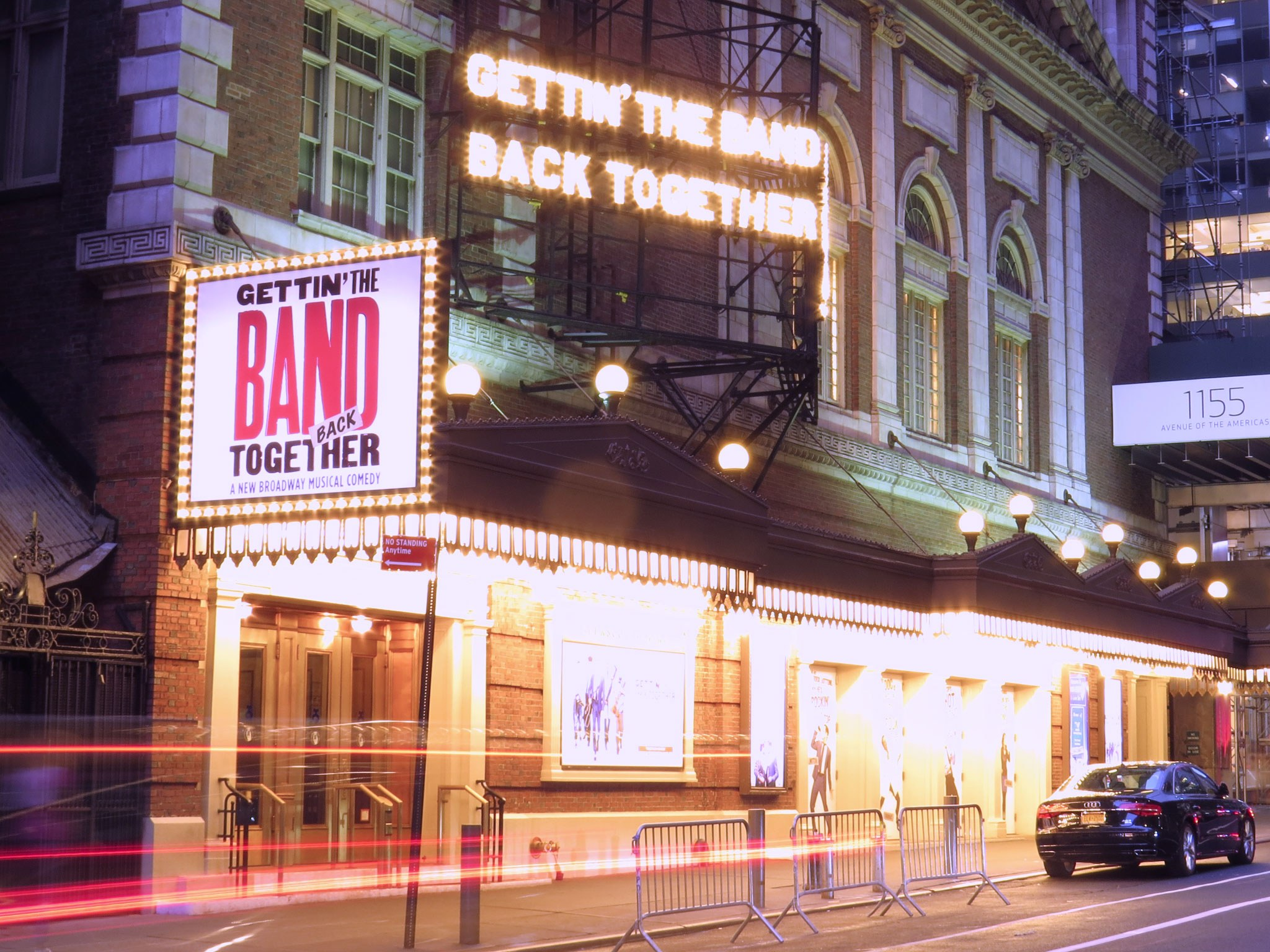 Gettin' the Band Back Together Marquee