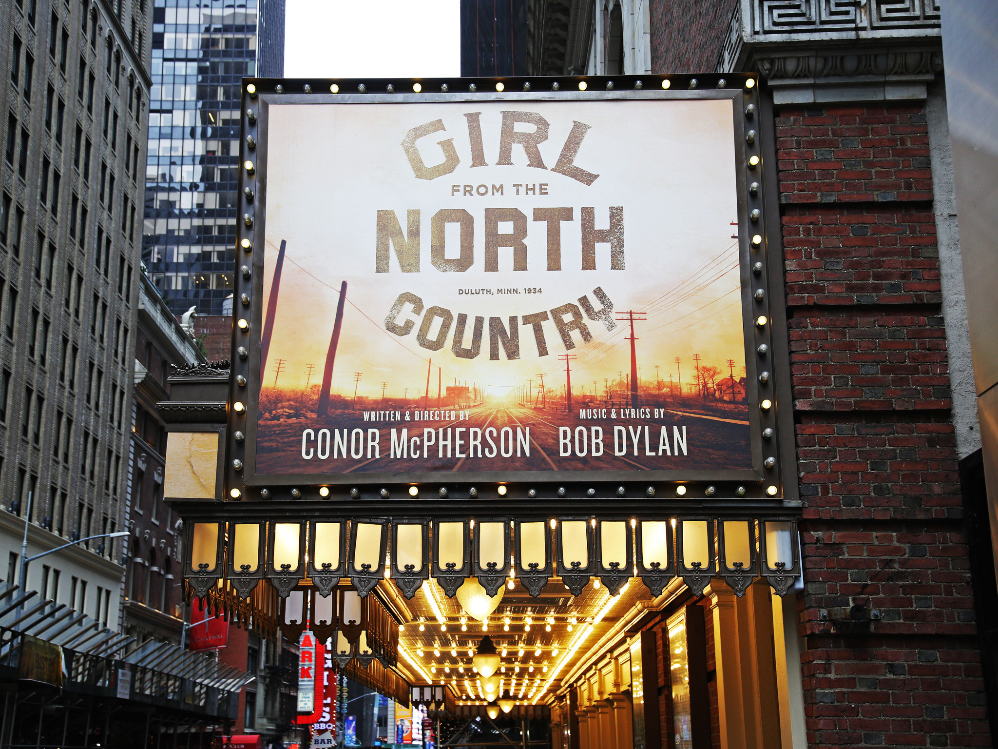 Girl from the North Country at the Belasco Theatre