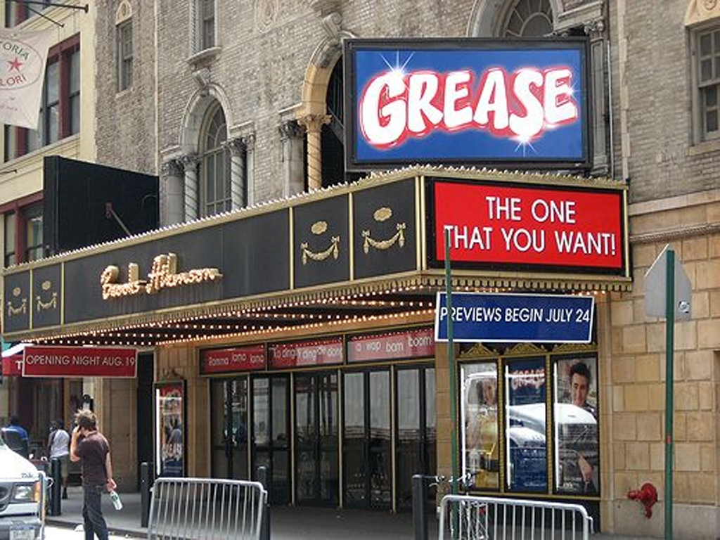 Grease Marquee