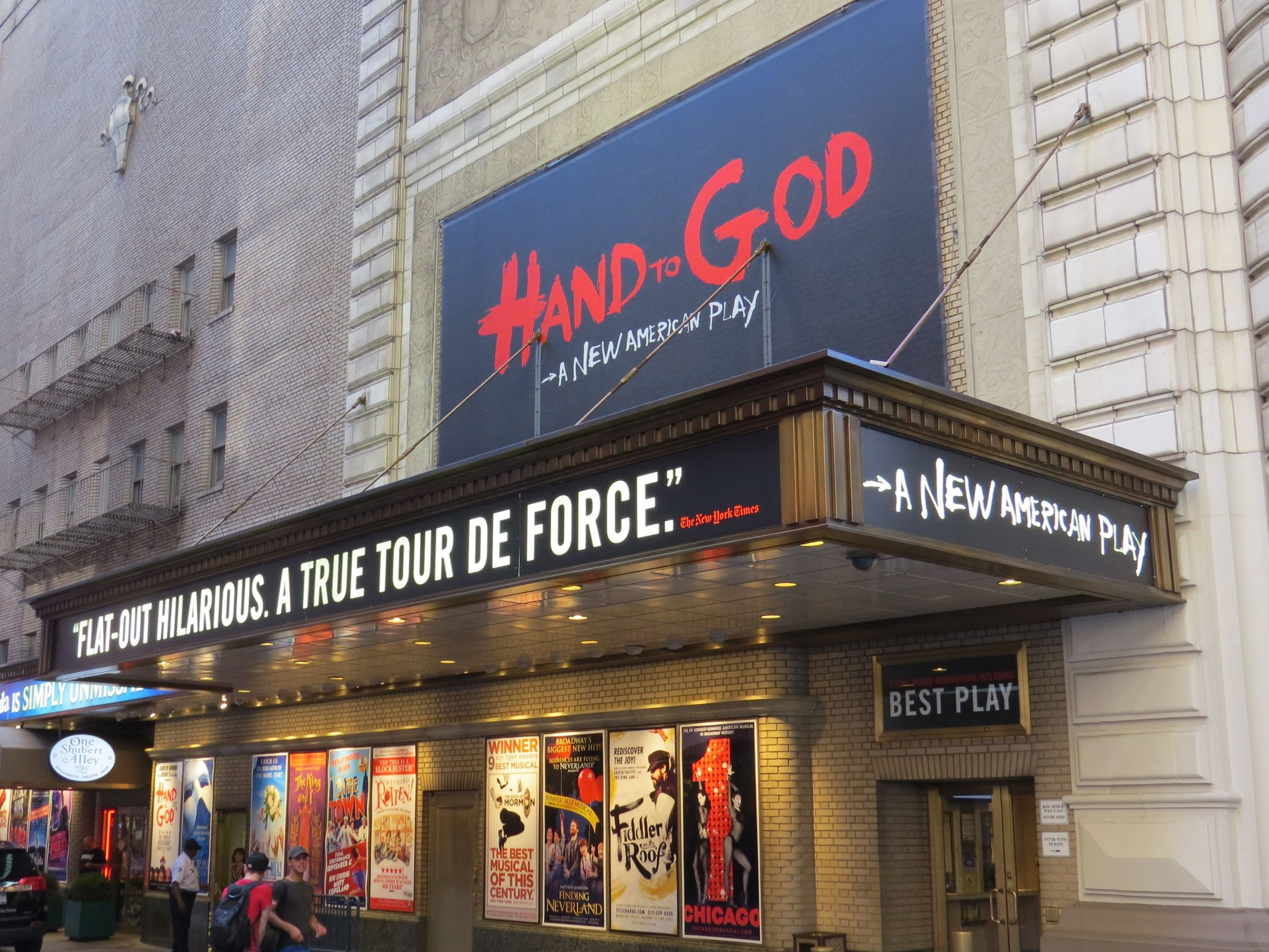 Hand To God Marquee