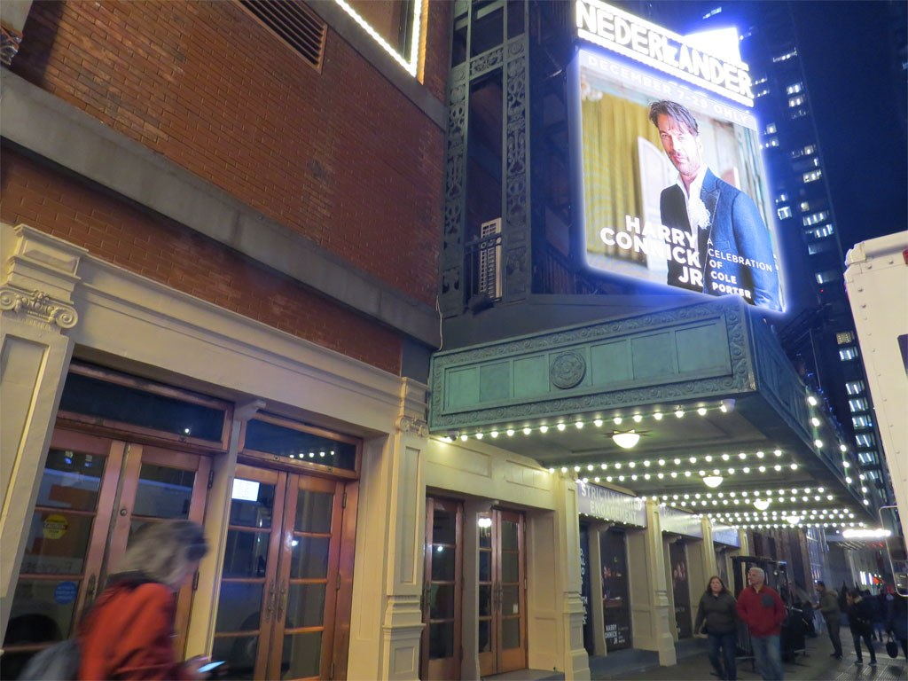 Harry Connick, Jr. - A Celebration of Cole Porter Broadway Theatre Marquee