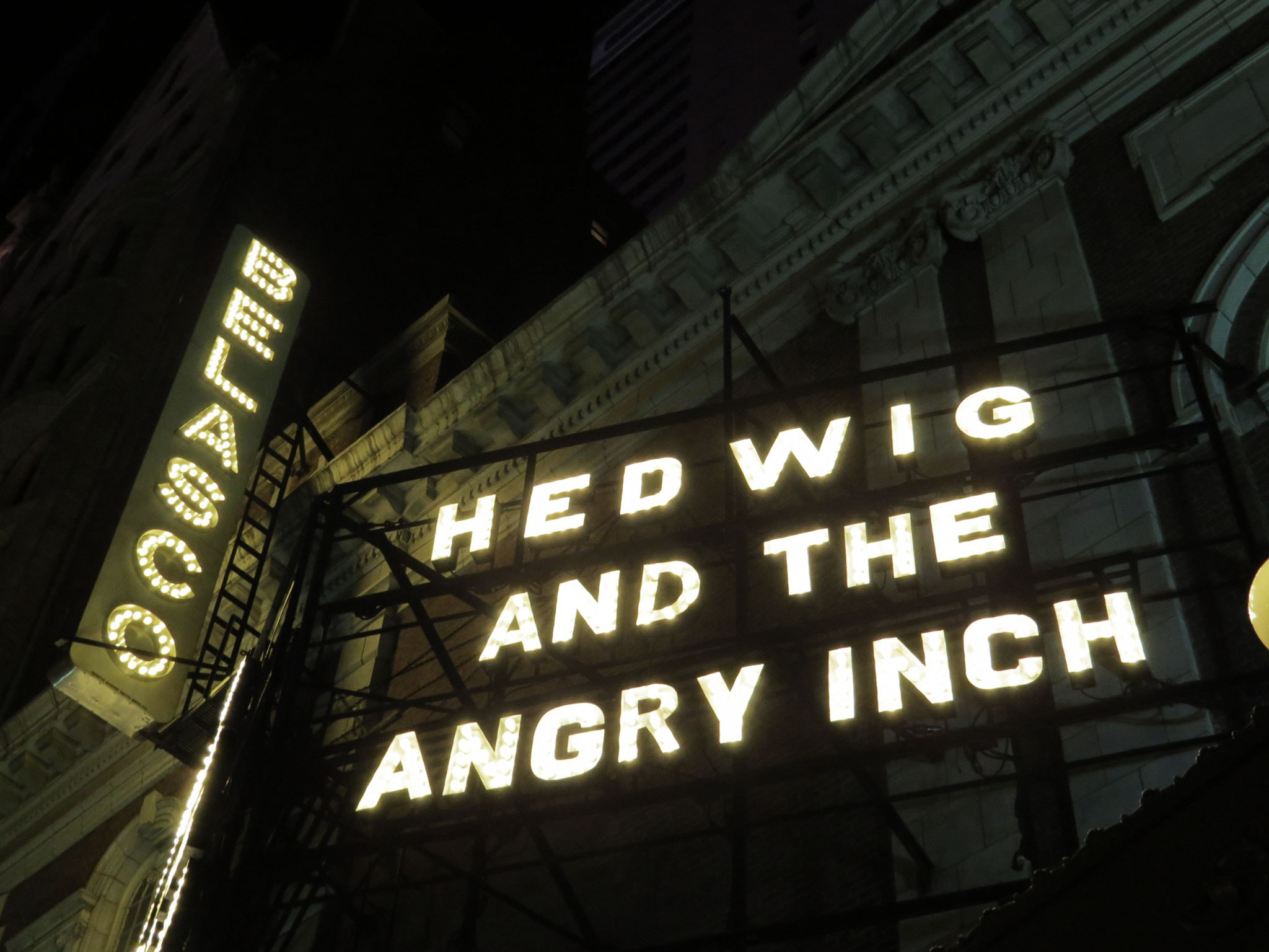 Hedwig and the Angry Inch Marquee