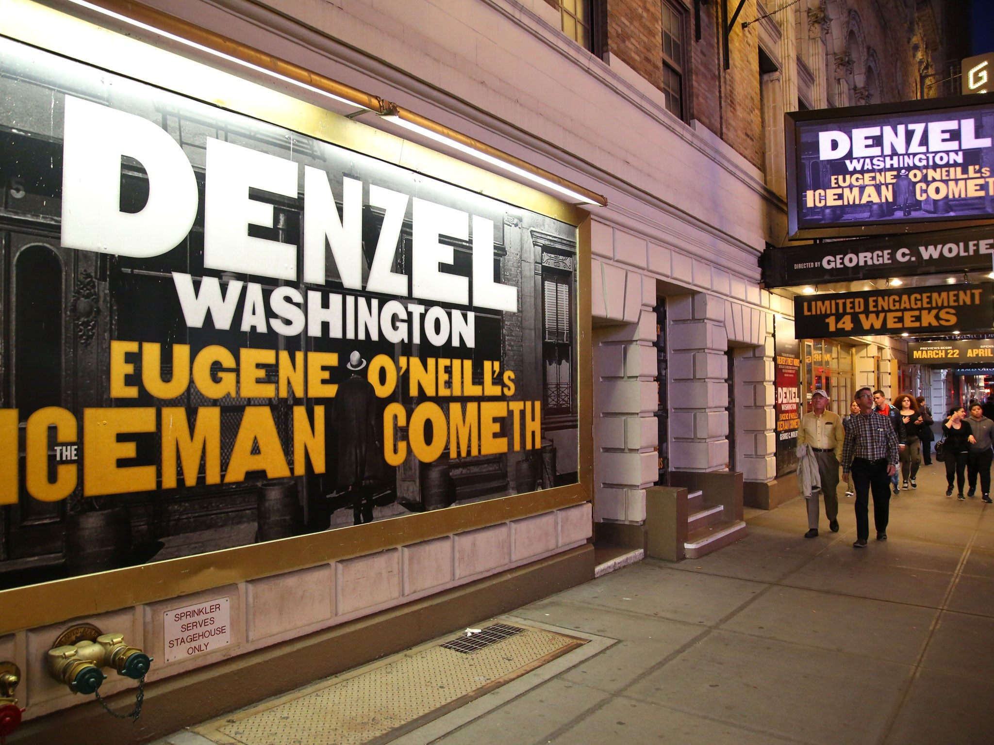 The Iceman Cometh Marquee