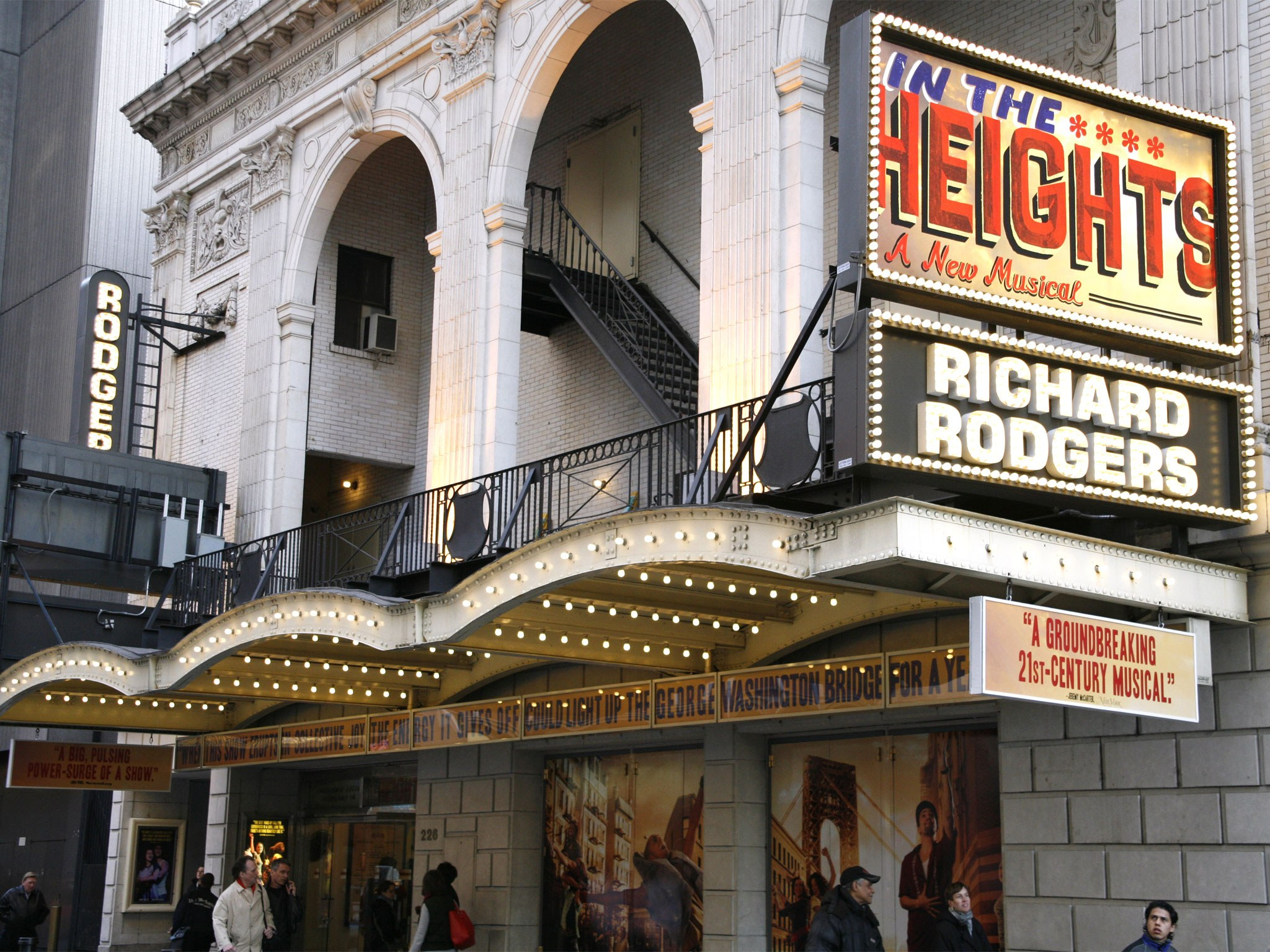 In the Heights Marquee