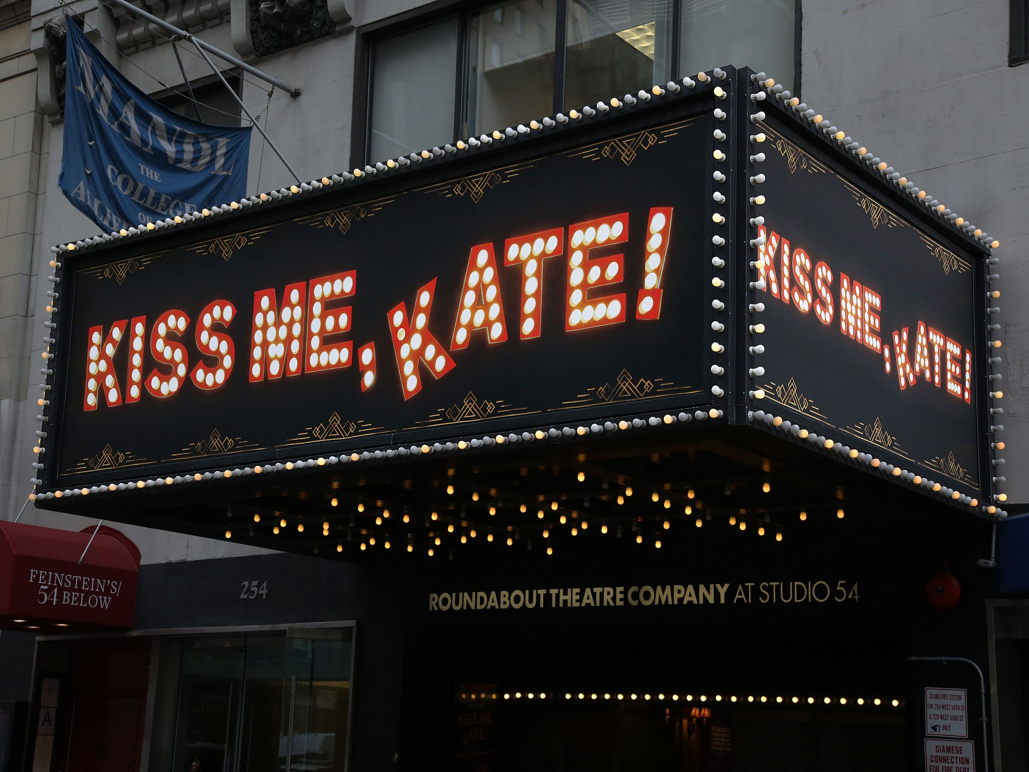 Kiss Me Kate at Studio 54 Theatre