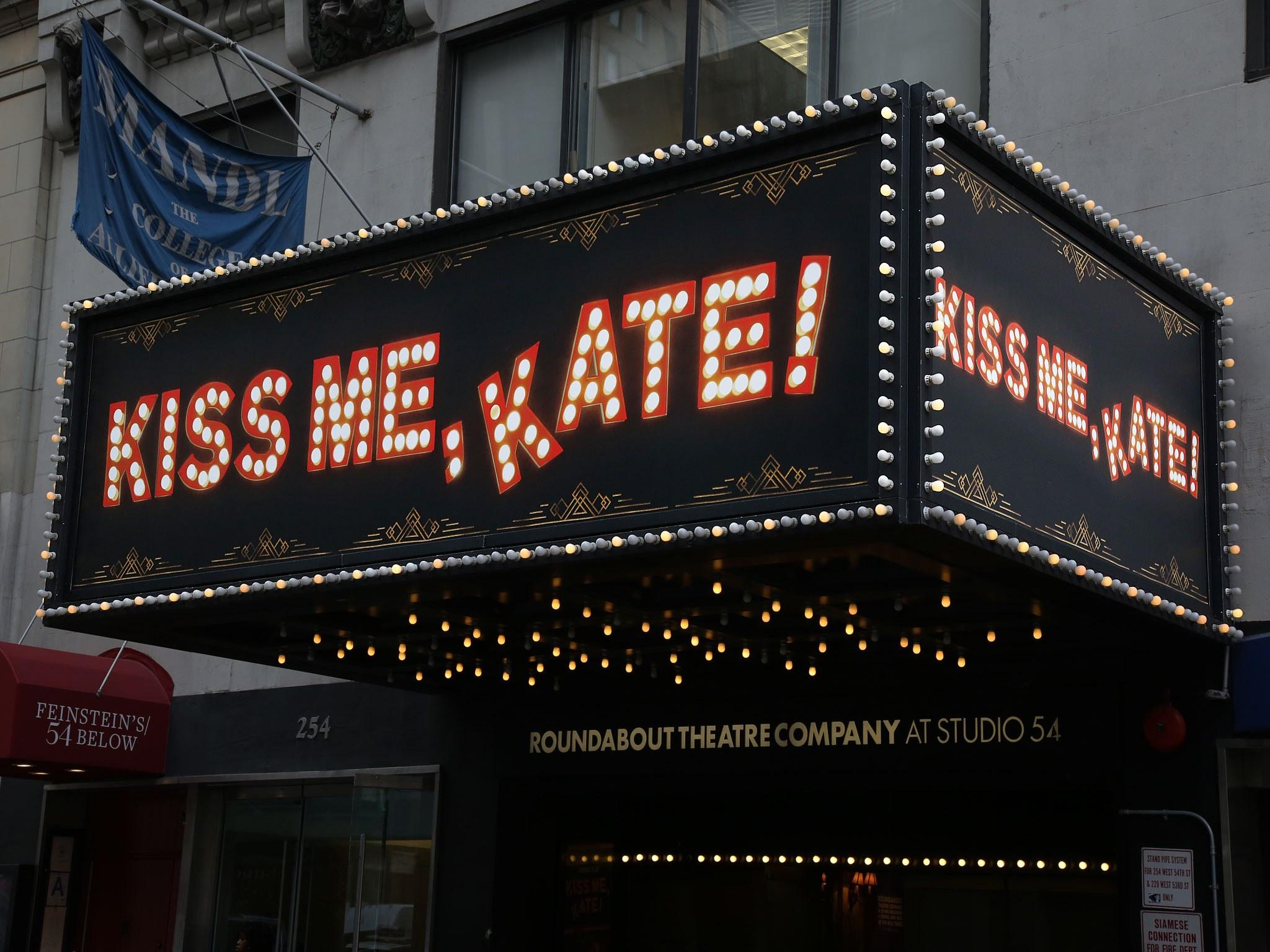 Kiss Me Kate at Studio 54 Theatre