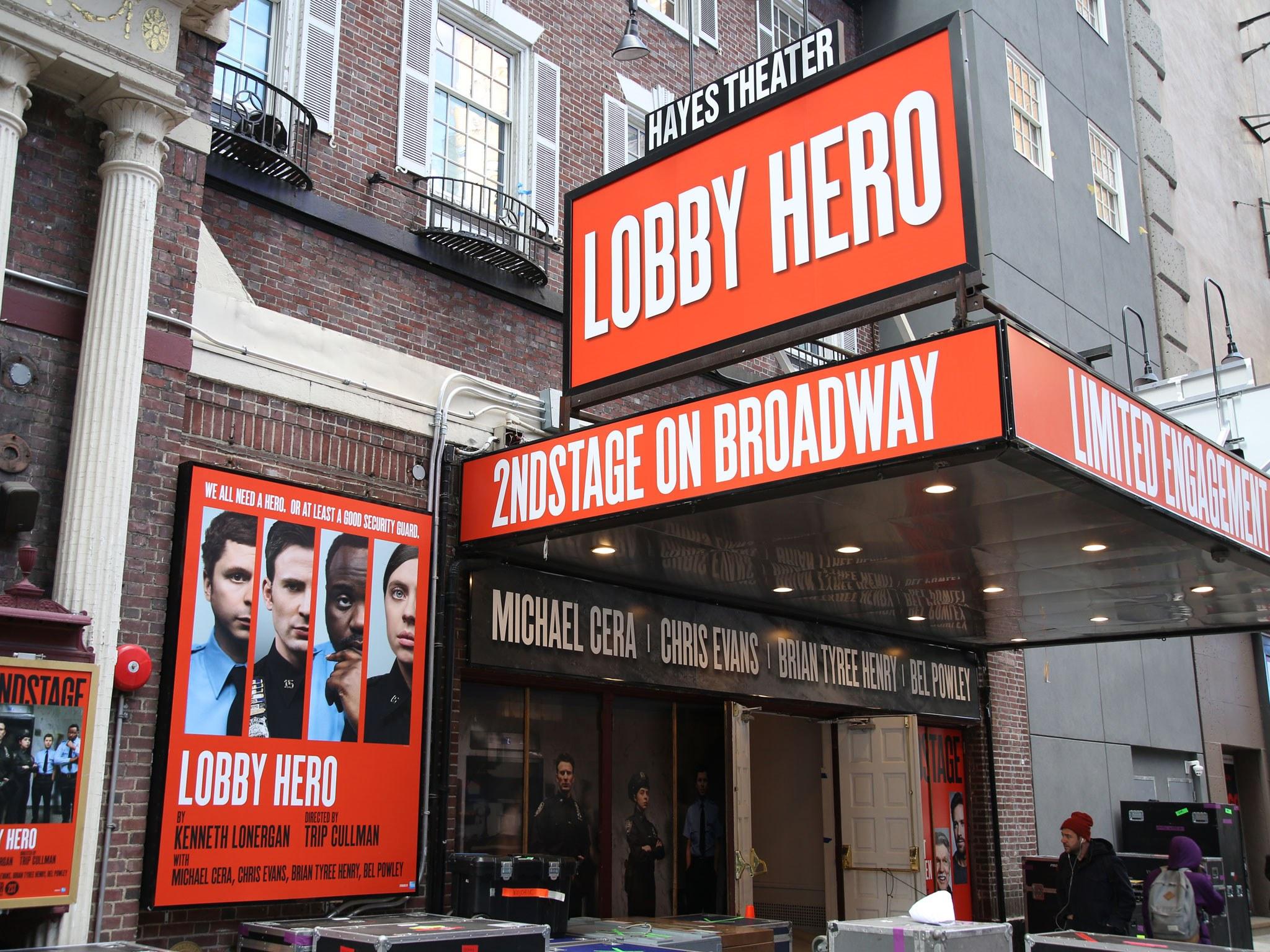 Lobby Hero Marquee
