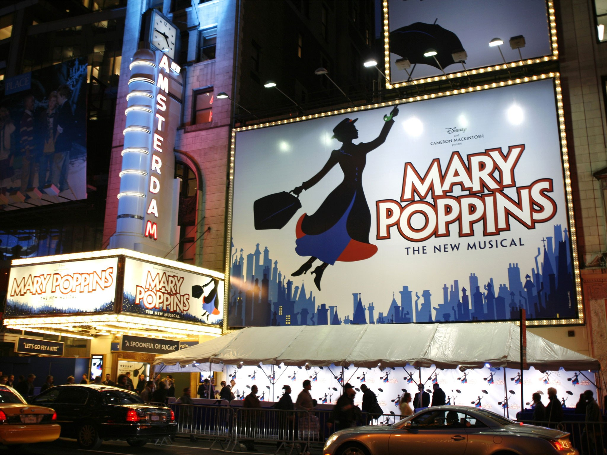 Mary Poppins Marquee