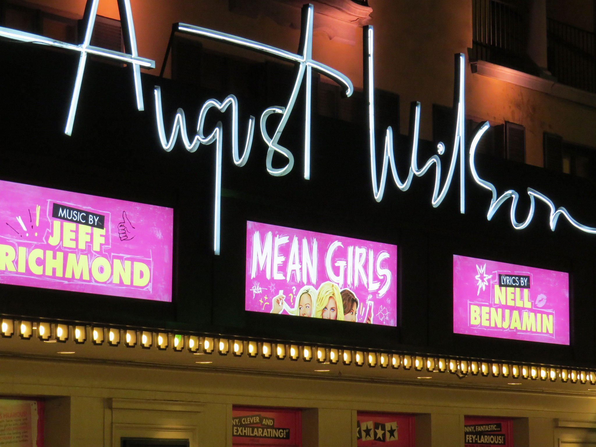 Mean Girls Marquee