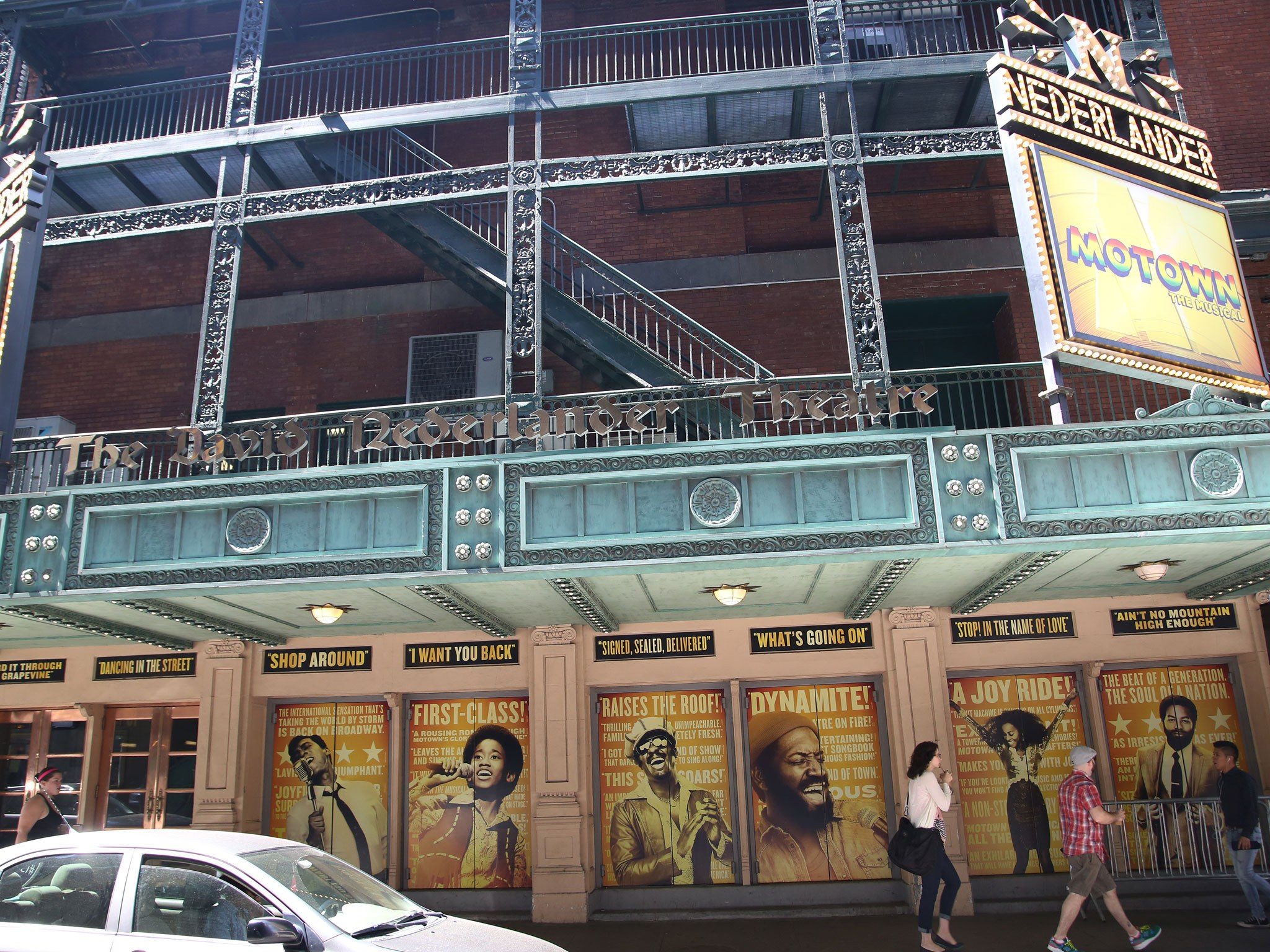 Motown Marquee at the Nederlander Theatre