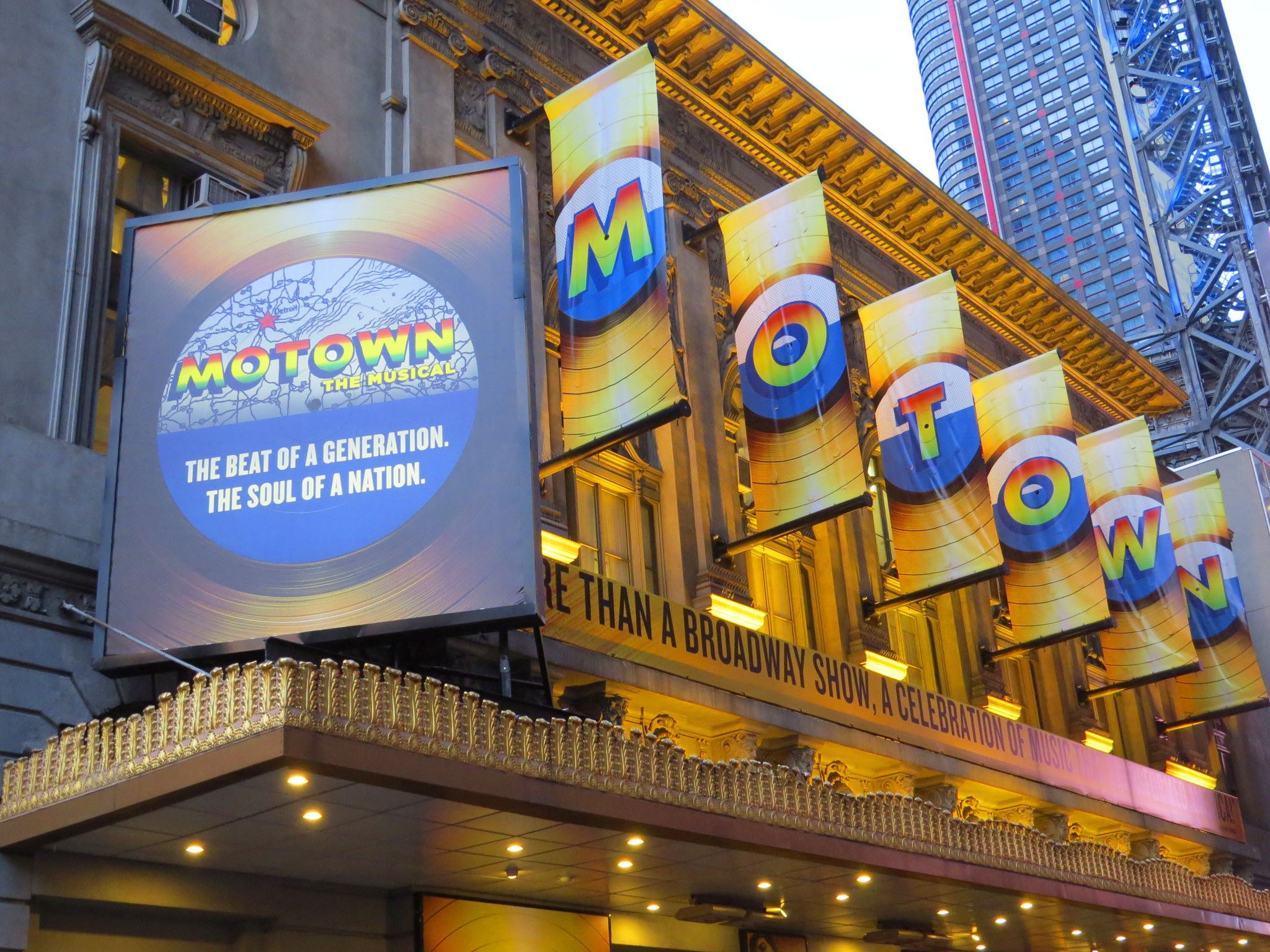 Motown The Musical (2013) Marquee