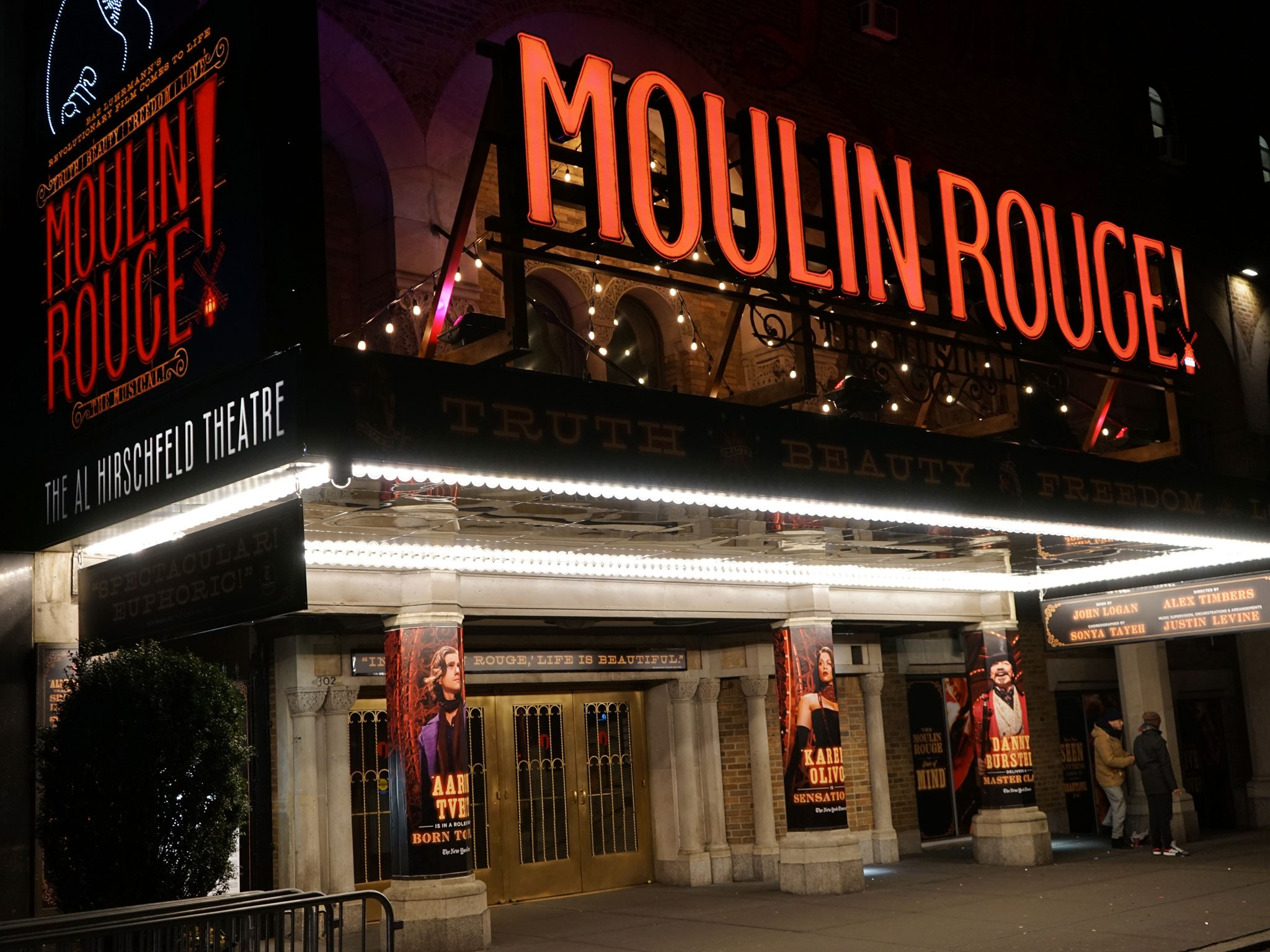 Moulin Rouge Theatre Marquee