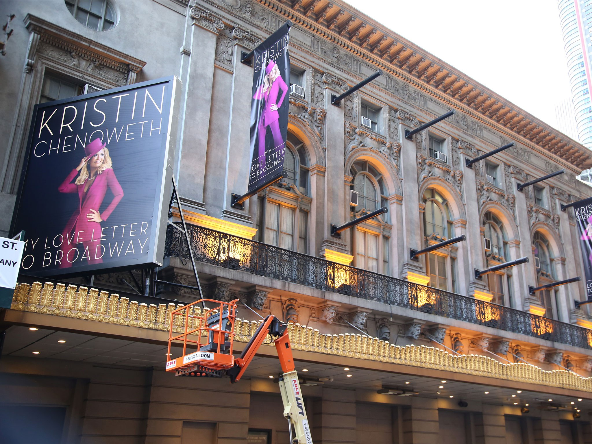 Kristin Chenoweth: My Love Letter to Broadway Marquee