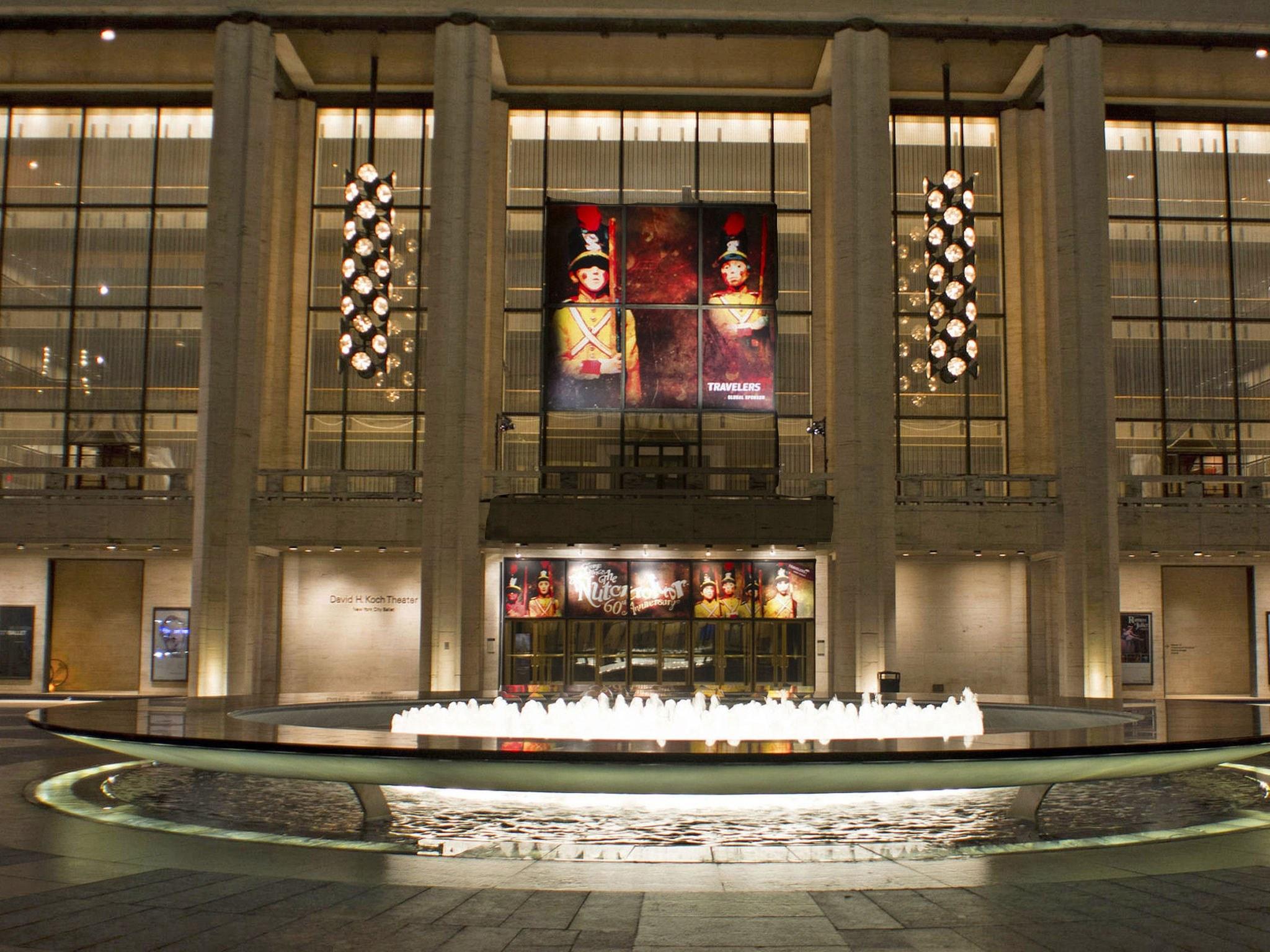 The Nutcracker Broadway The Lincoln Center Theatre Marquee