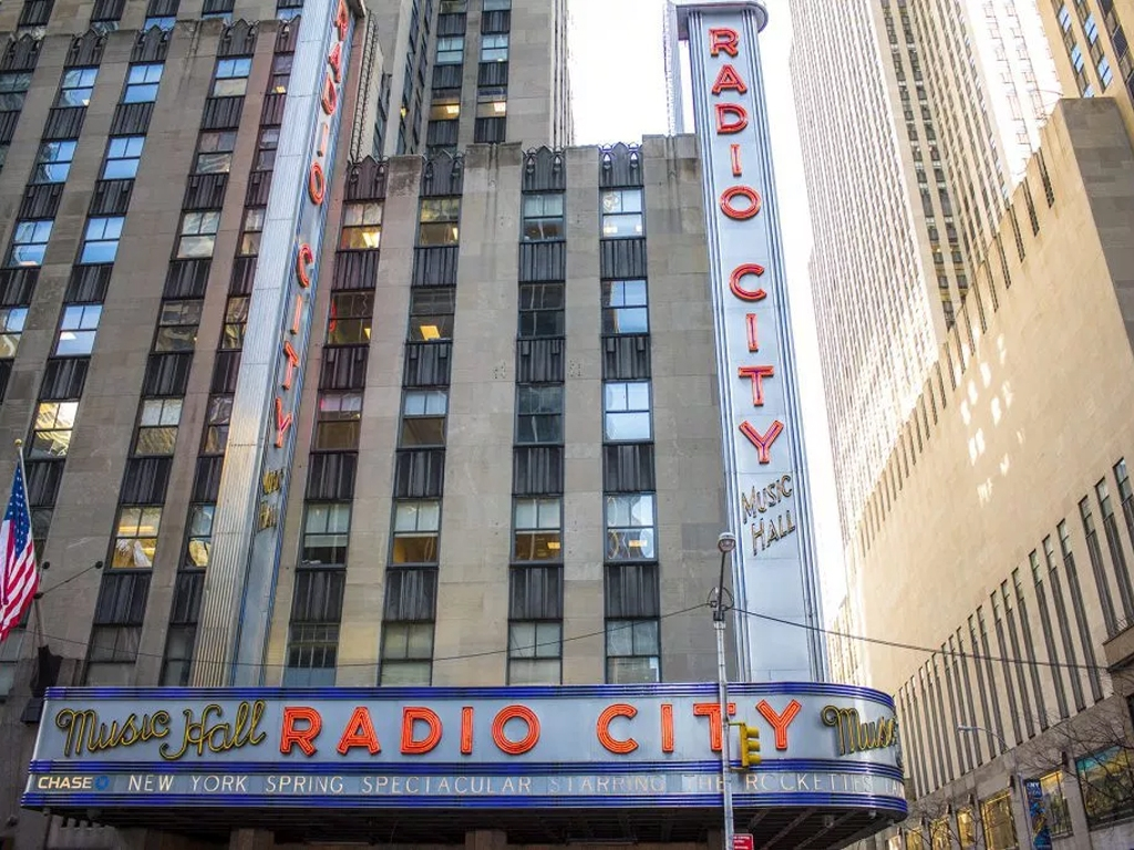 New York Spring Spectacular 2015 Marquee