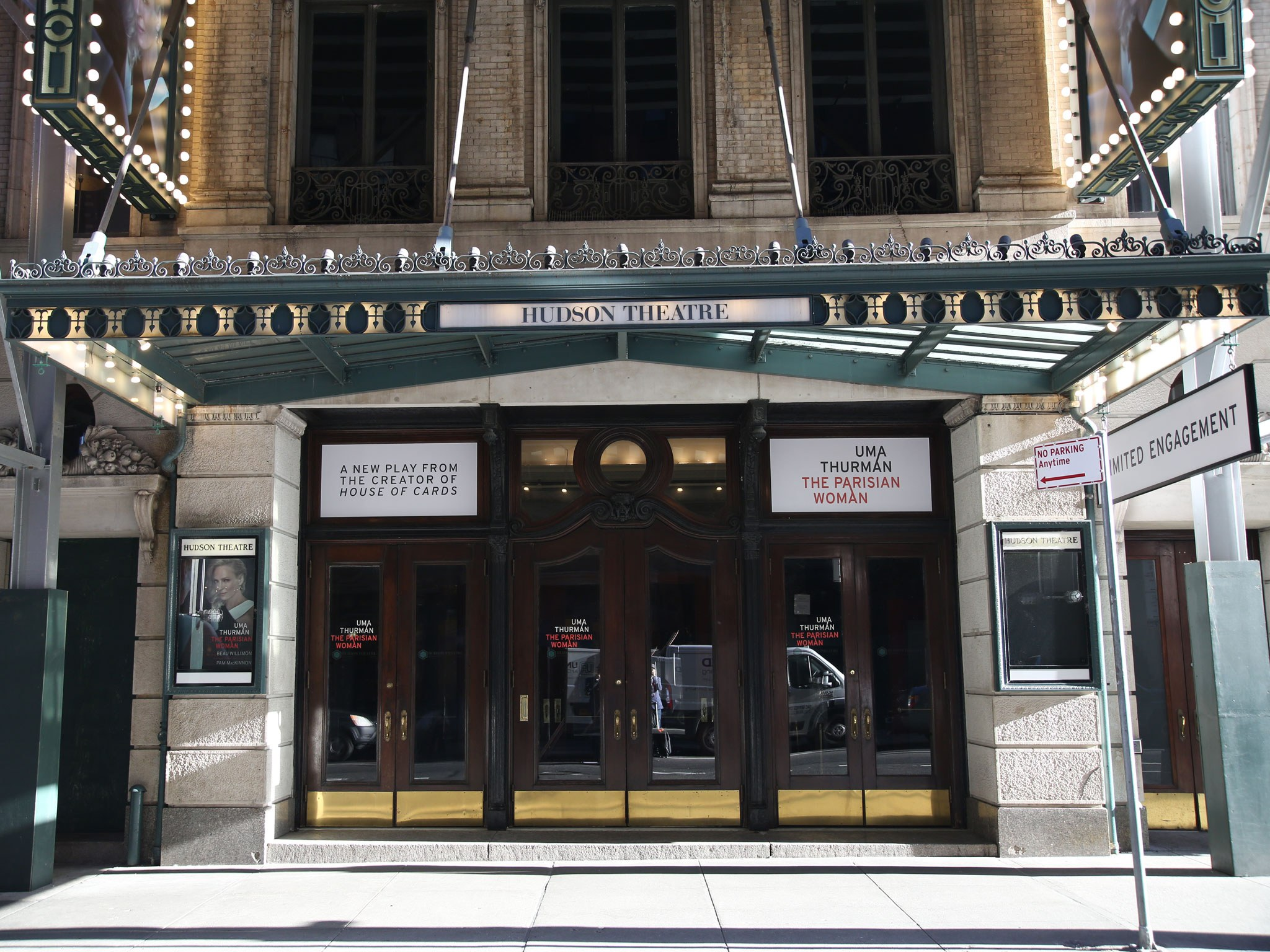Parisian Woman Broadway Theatre Marquee