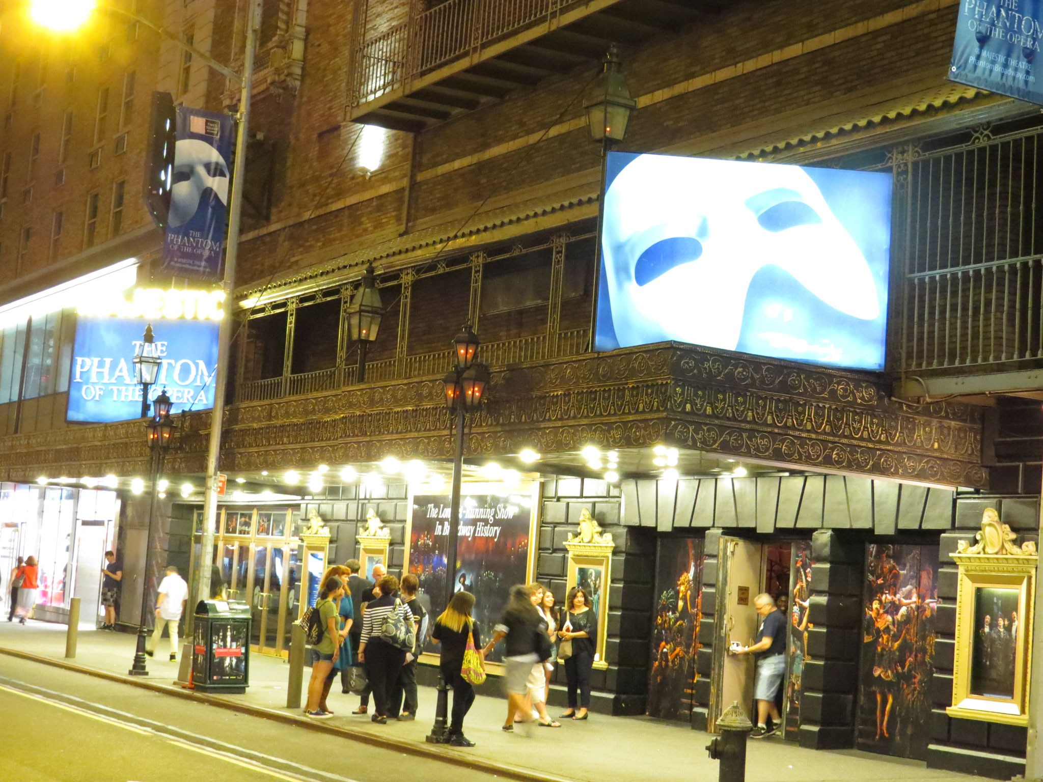 Phantom of the Opera Marquee
