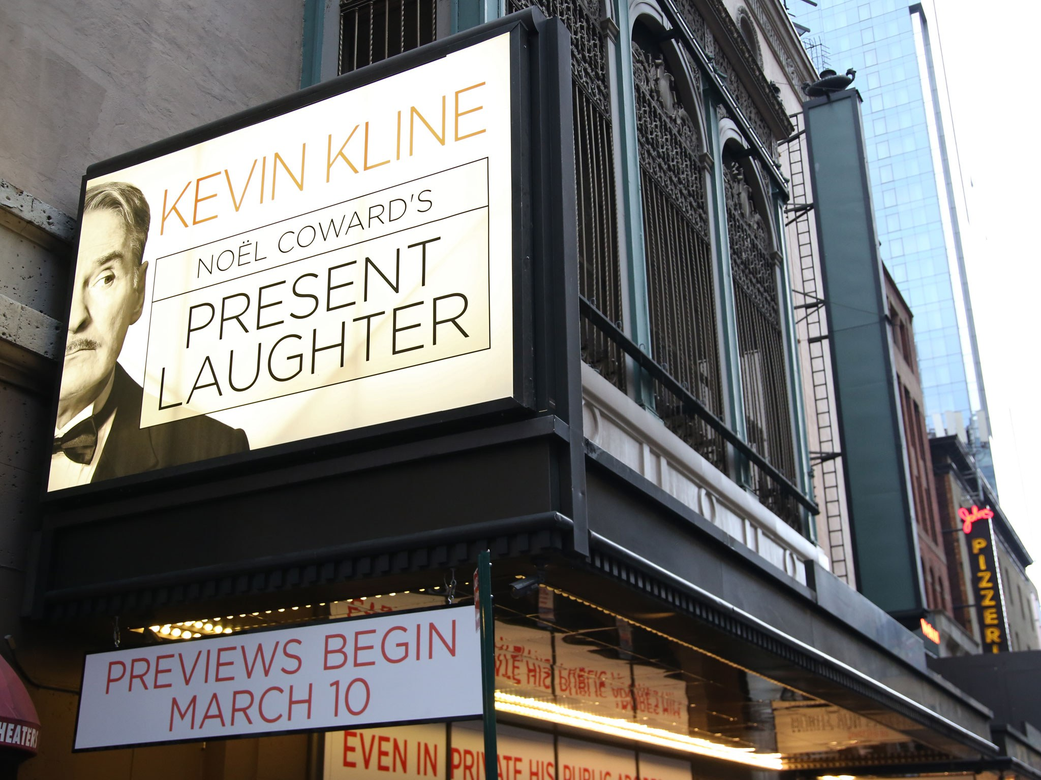 Present Laughter Marquee