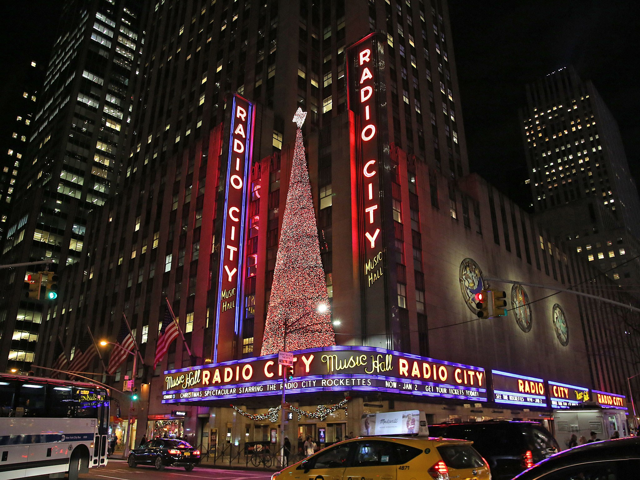 Radio City Christmas Spectacular Marquee