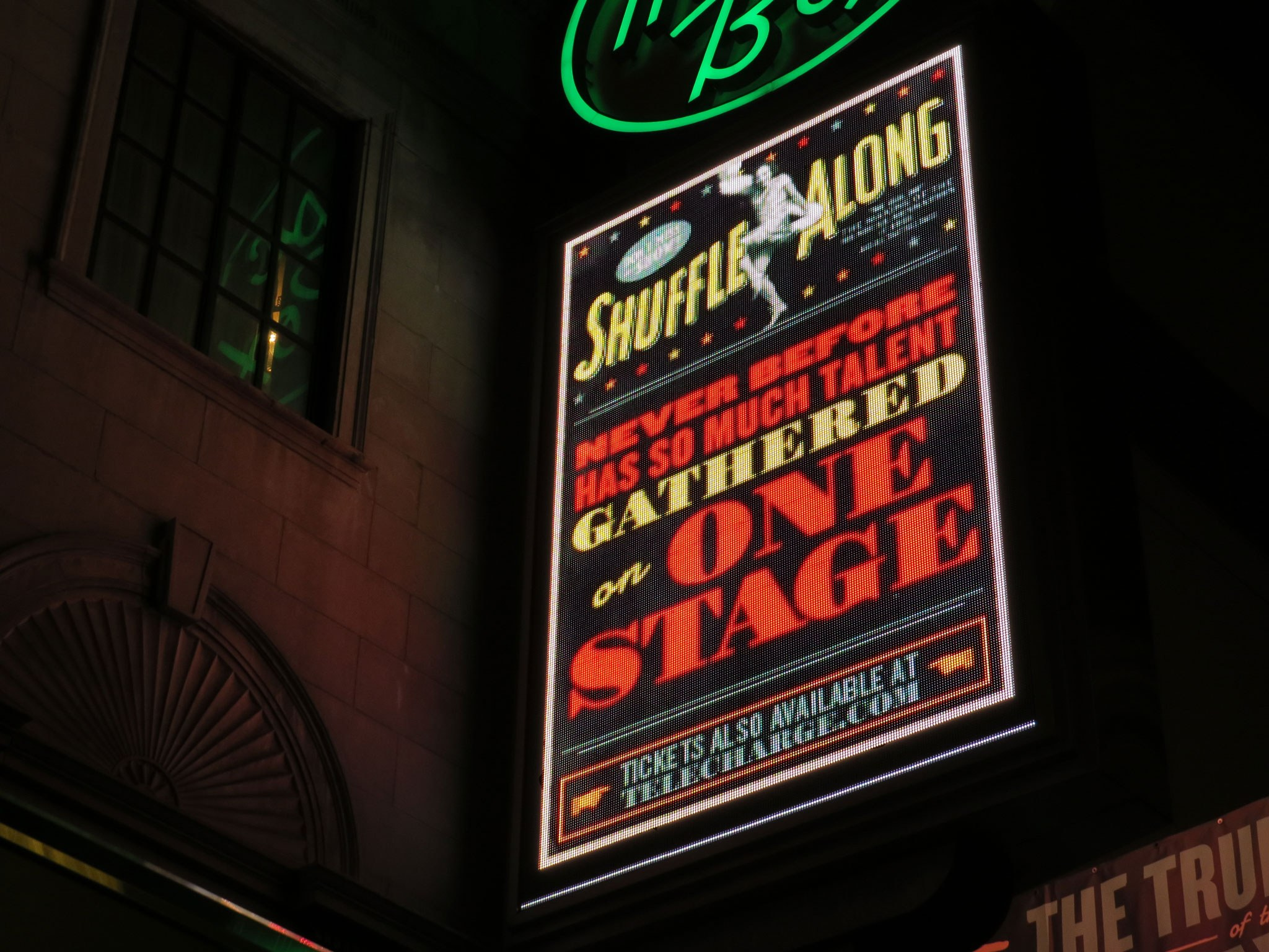Shuffle Along Marquee