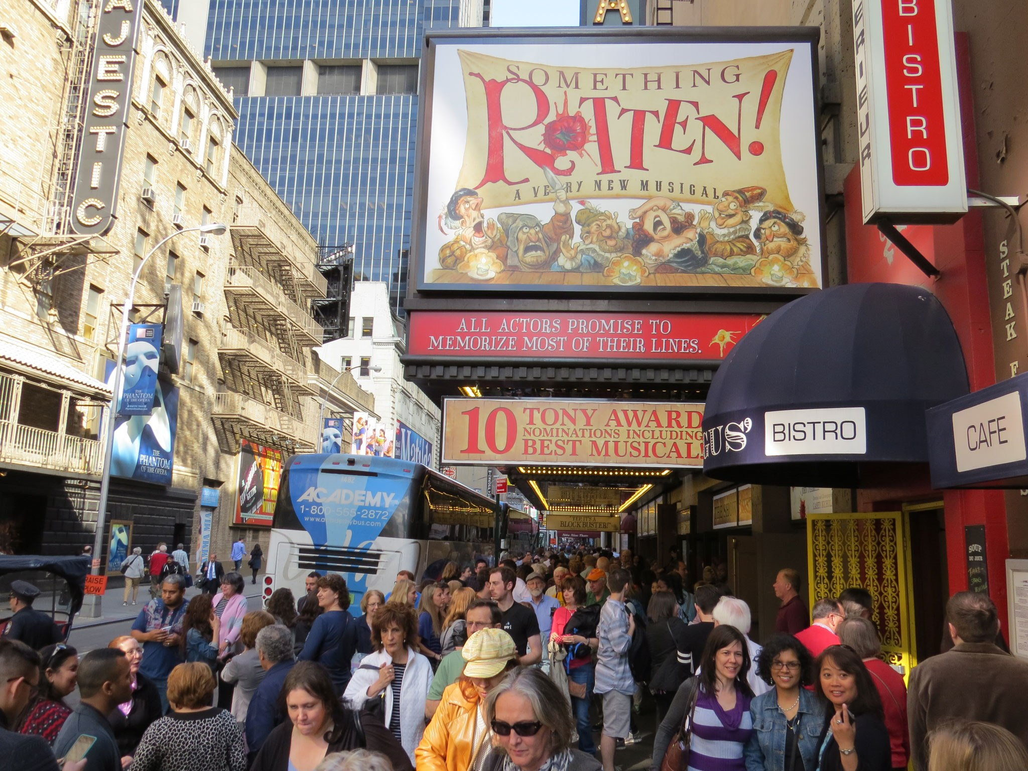 Something Rotten! Marquee