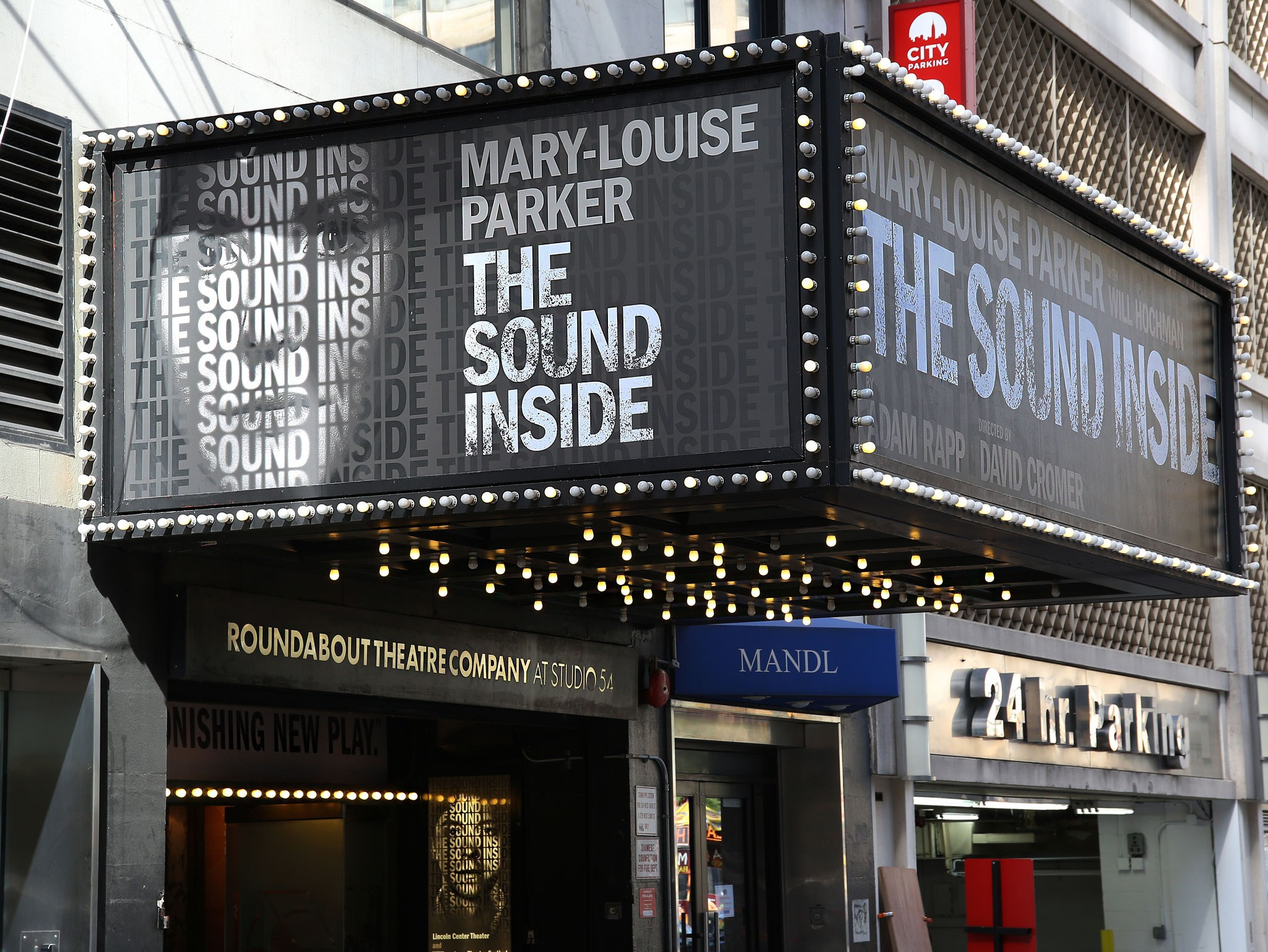 The Sound Inside Theatre Marquee at Studio 54