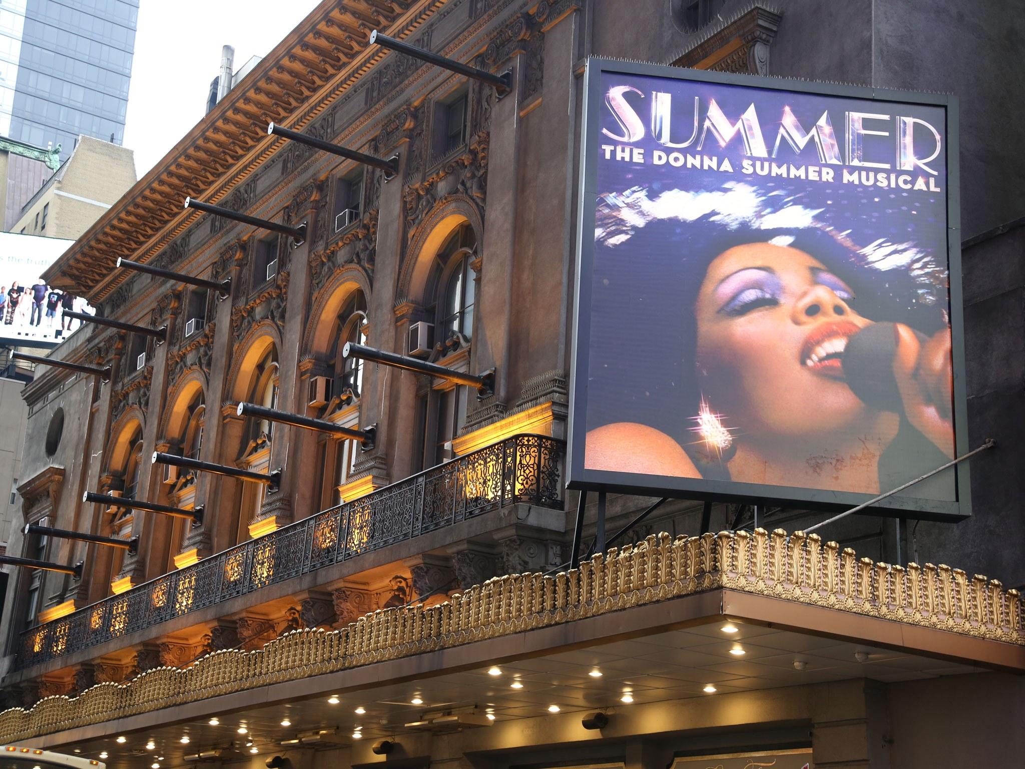 Summer Broadway Theatre Marquee
