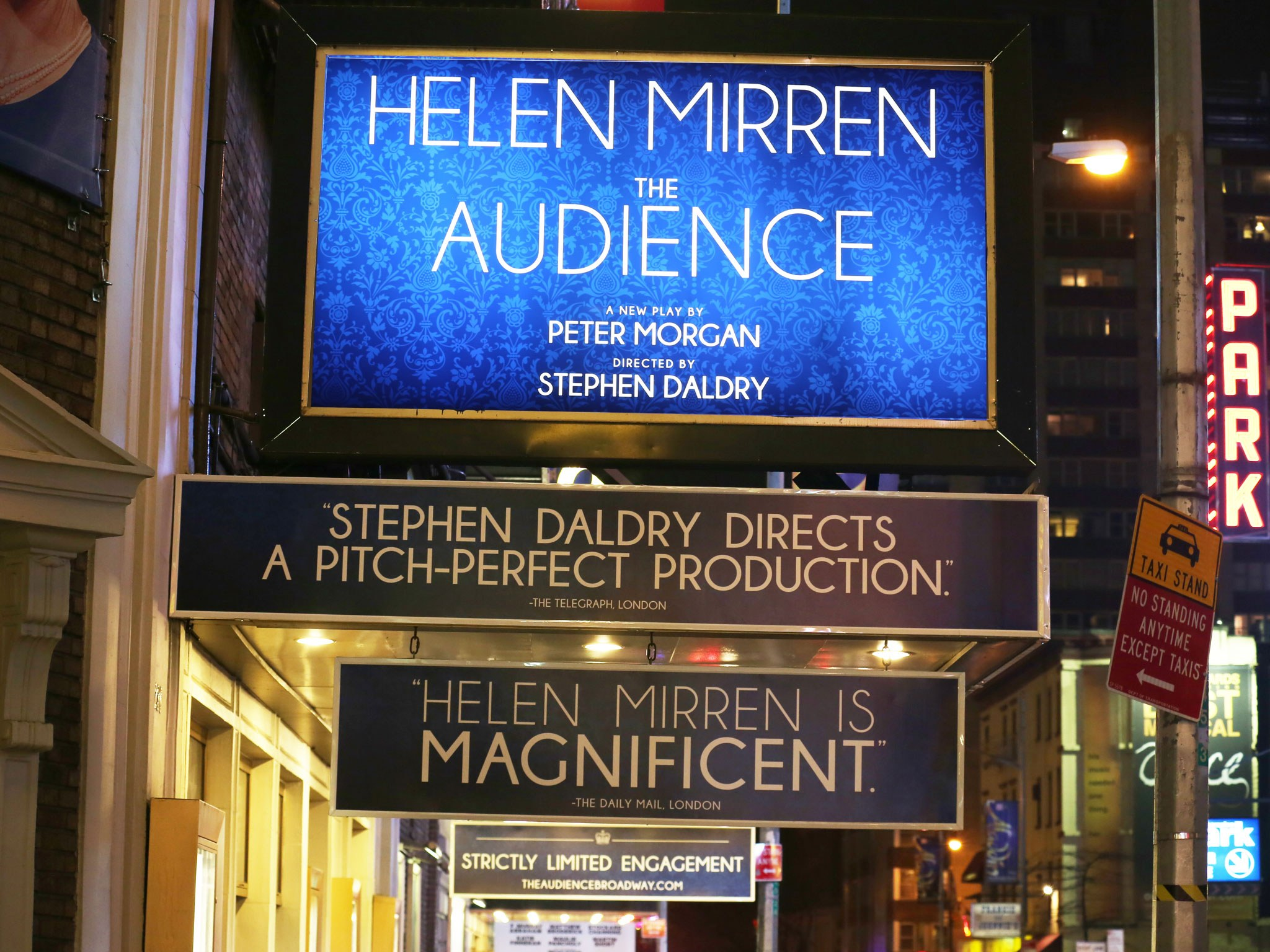 The Audience Marquee