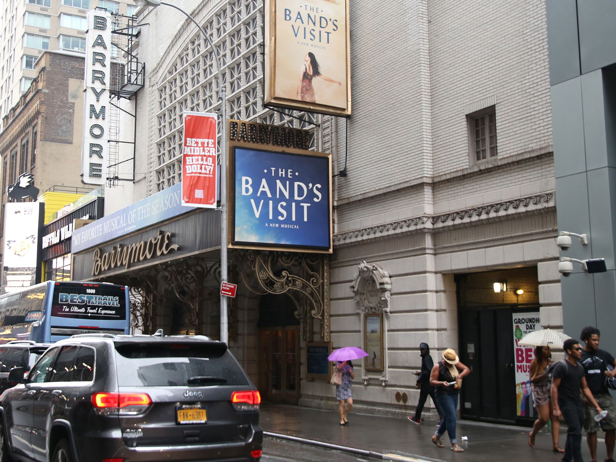 The Band's Visit Marquee